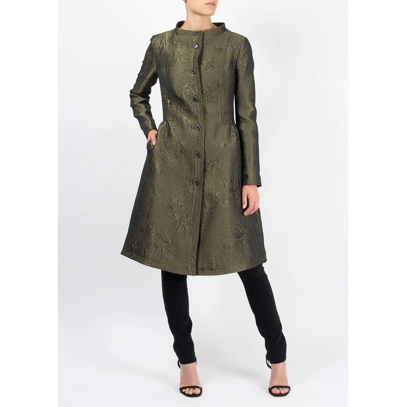 Temperley London Jacquard Dress Coat