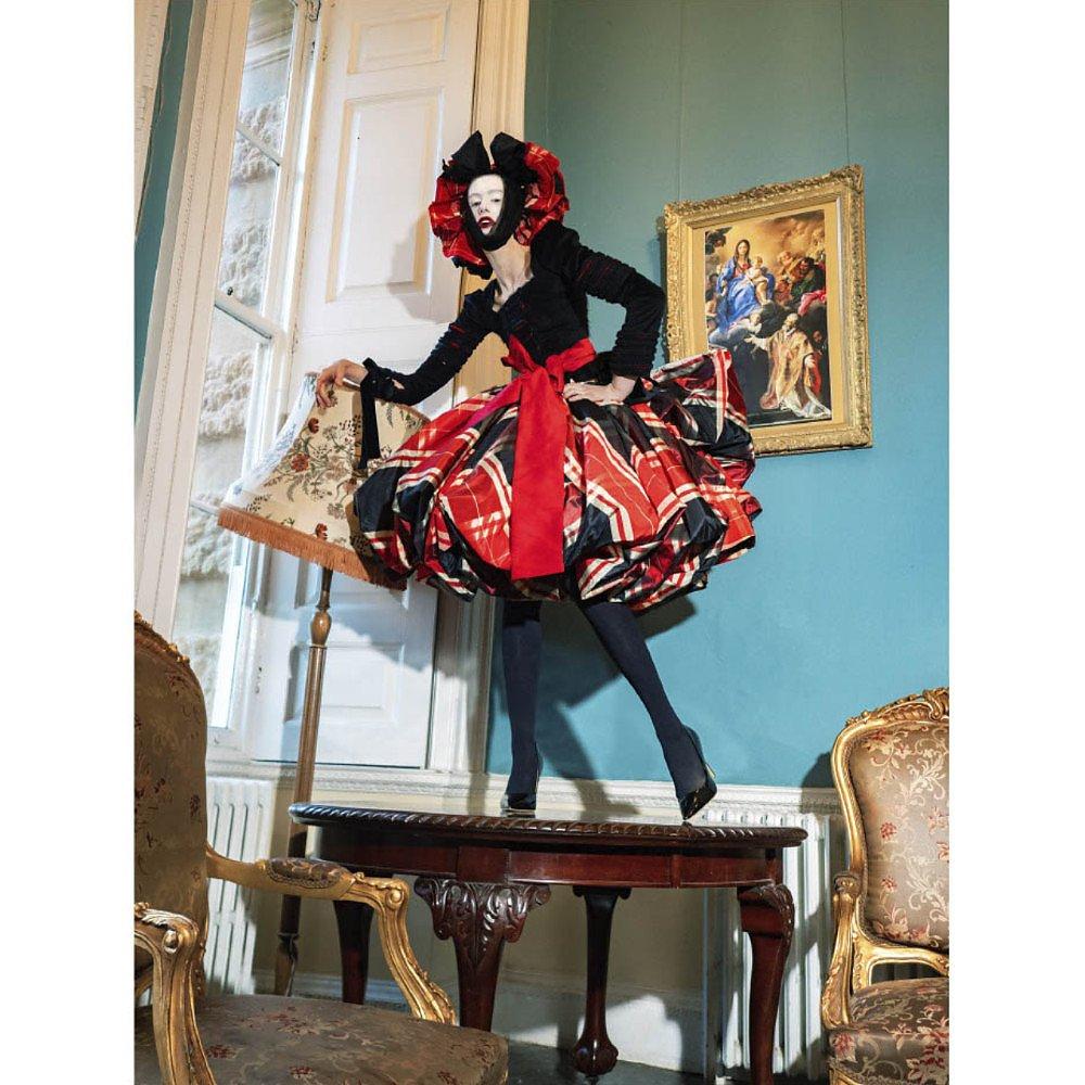 House Of Sheldonhall Silk Tartan Party Skirt