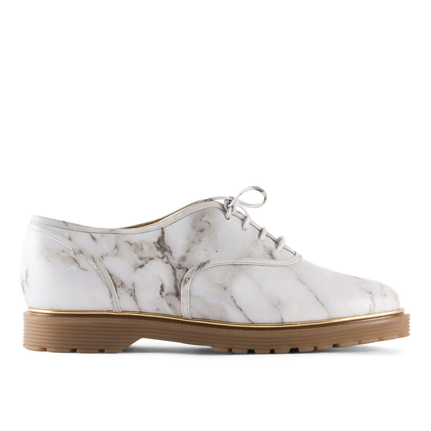 Charlotte Olympia Stefania Marble Effect Oxfords
