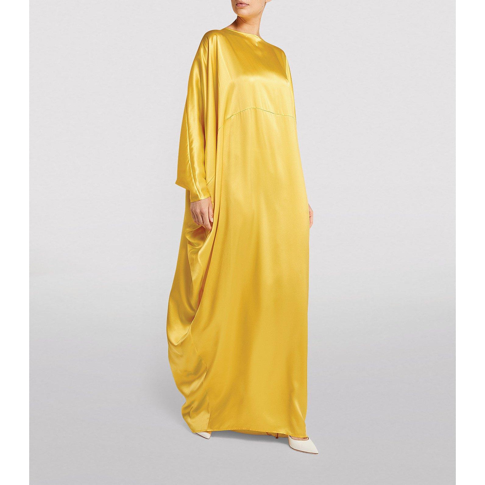 Bernadette Gio Asymmetric Silk Dress