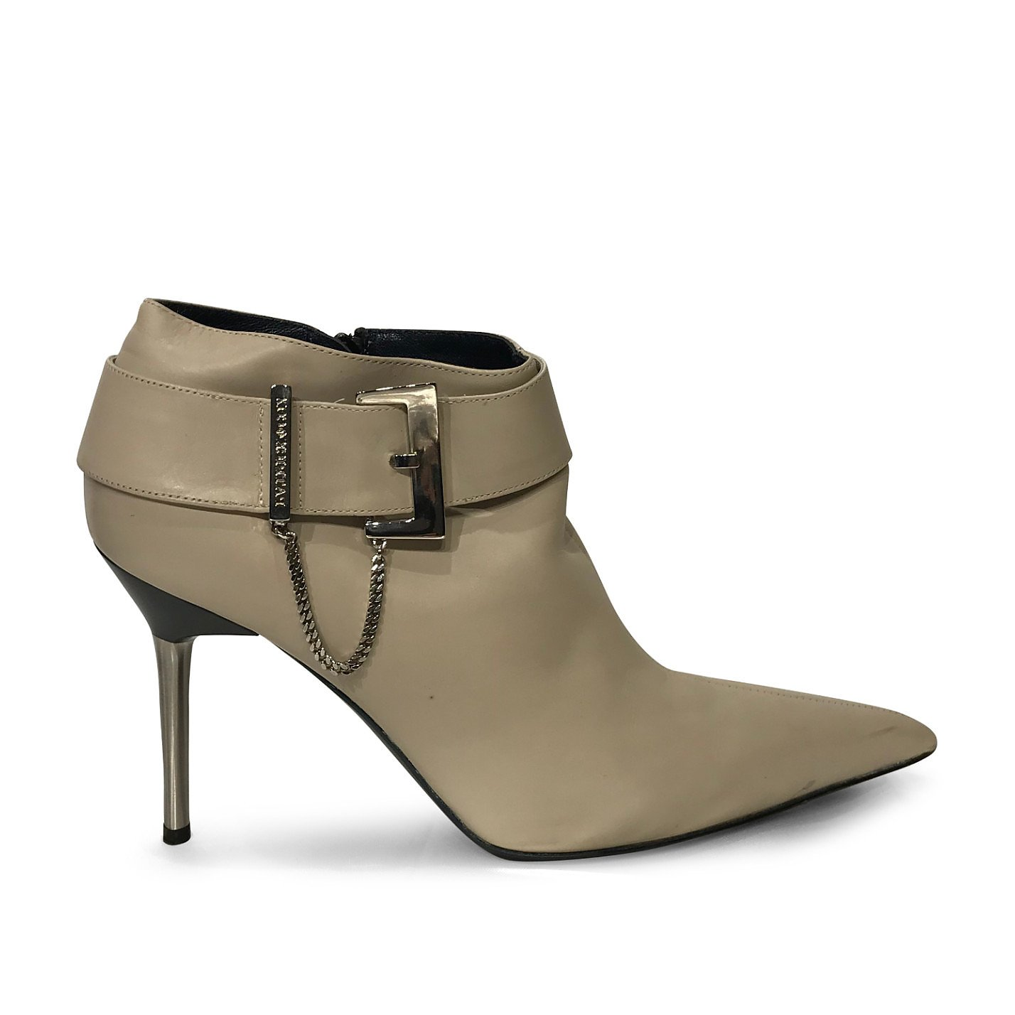 Patrick Cox Buckle-Detail Leather Booties