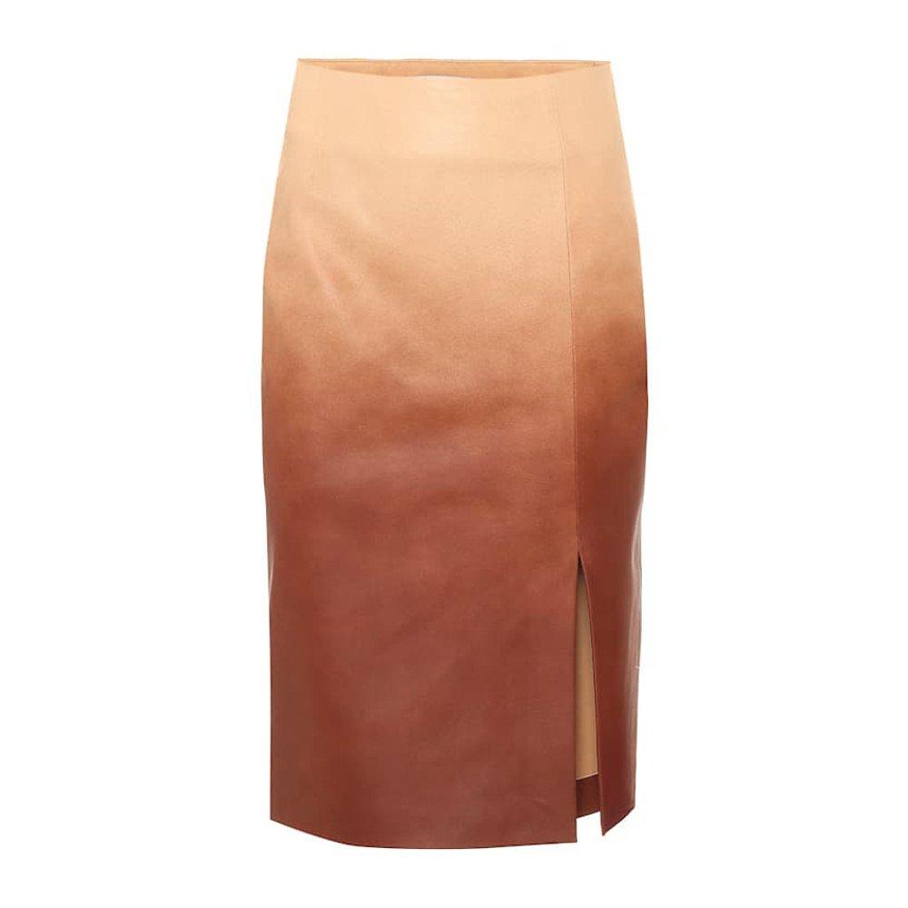 Dorothee Schumacher Dégradé Leather Skirt