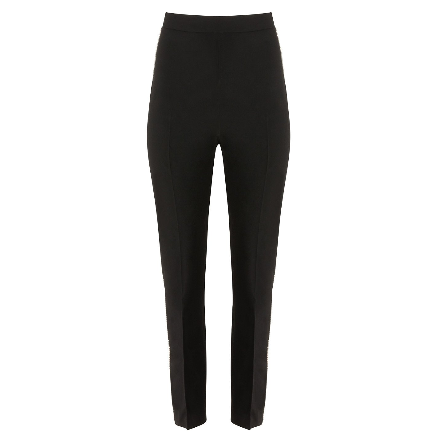 David Koma Crystal-Embellished Tapered Trousers