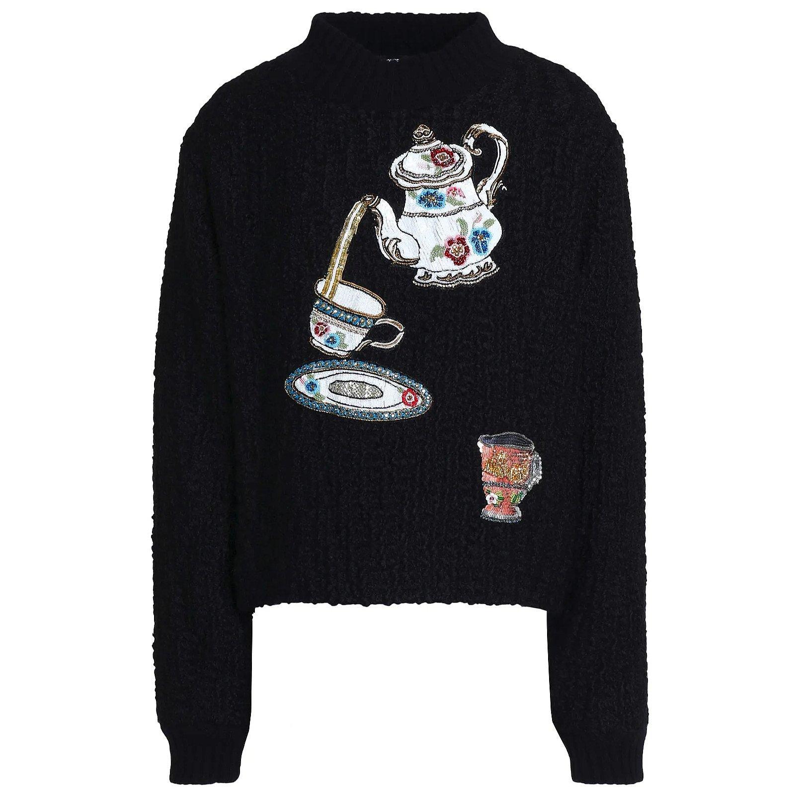 DOLCE & GABBANA Fairy Tale Bouclé Sweater