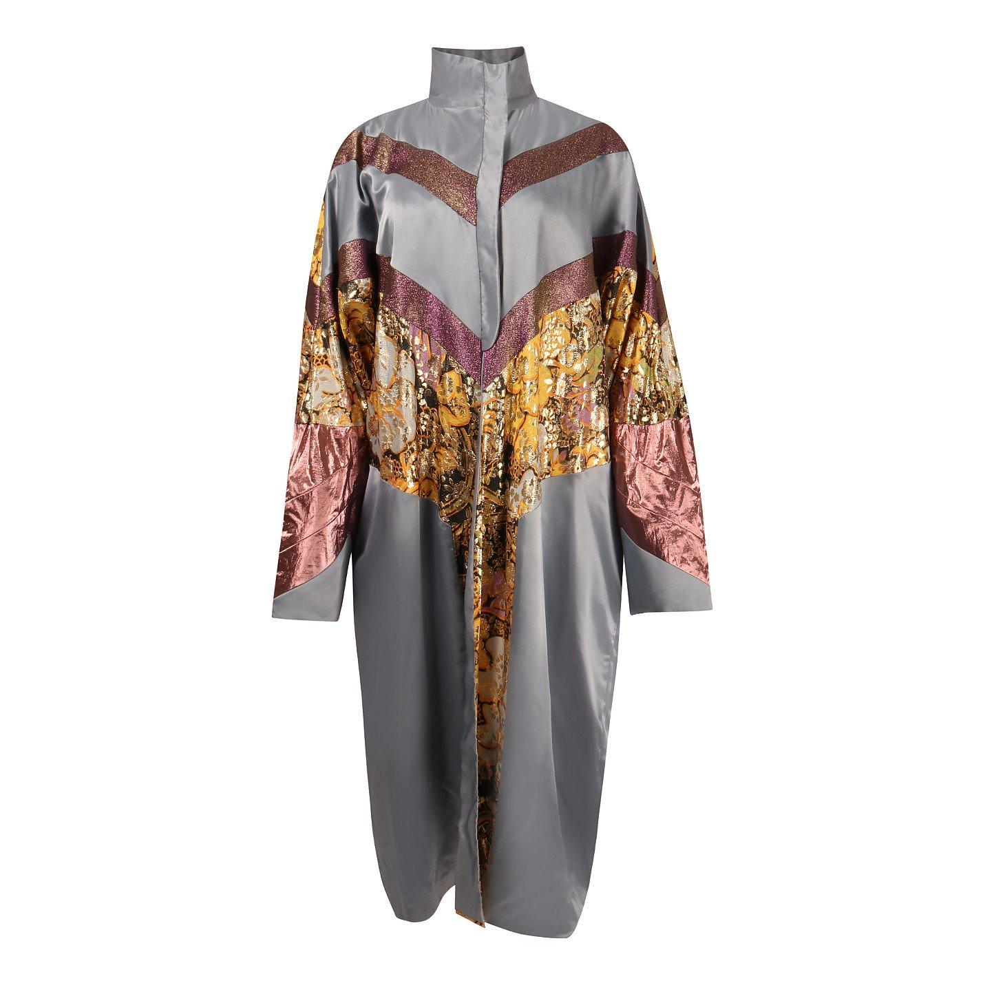Haniko Metallic Satin Kimono