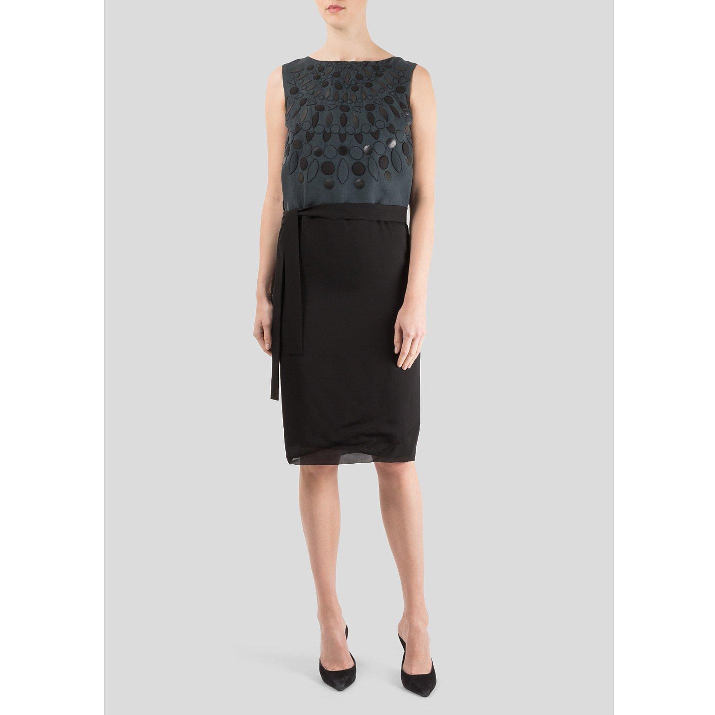 Victoria Beckham Gavarnie Georgette Dress