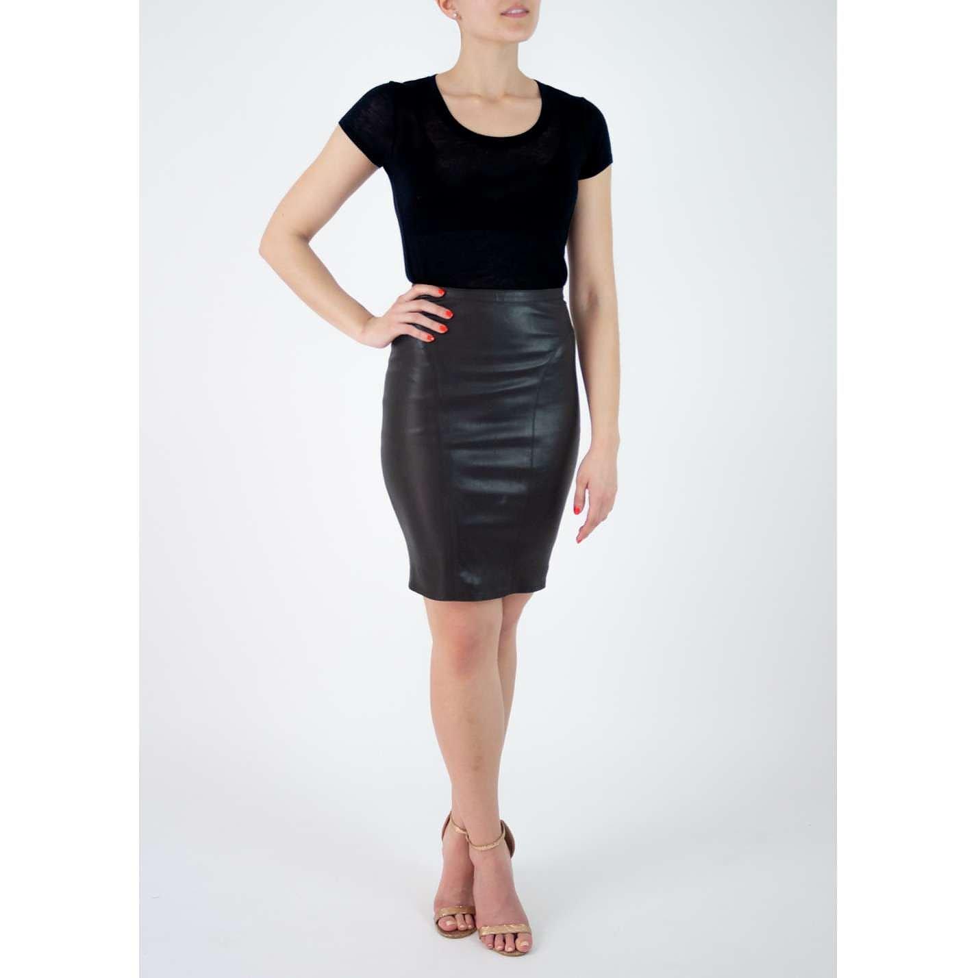 Kiki de Montparnasse Leather Skirt