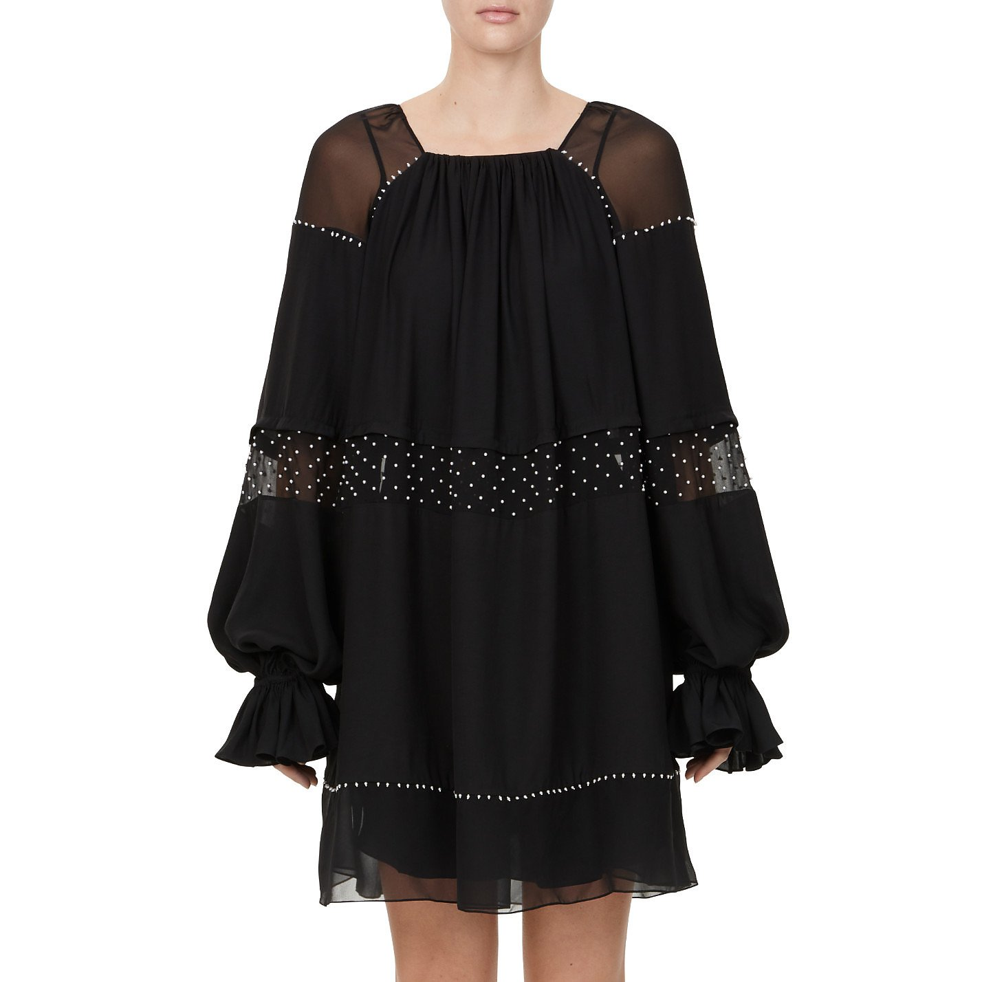 Noon By Noor Henley Gathered Panel Blouse