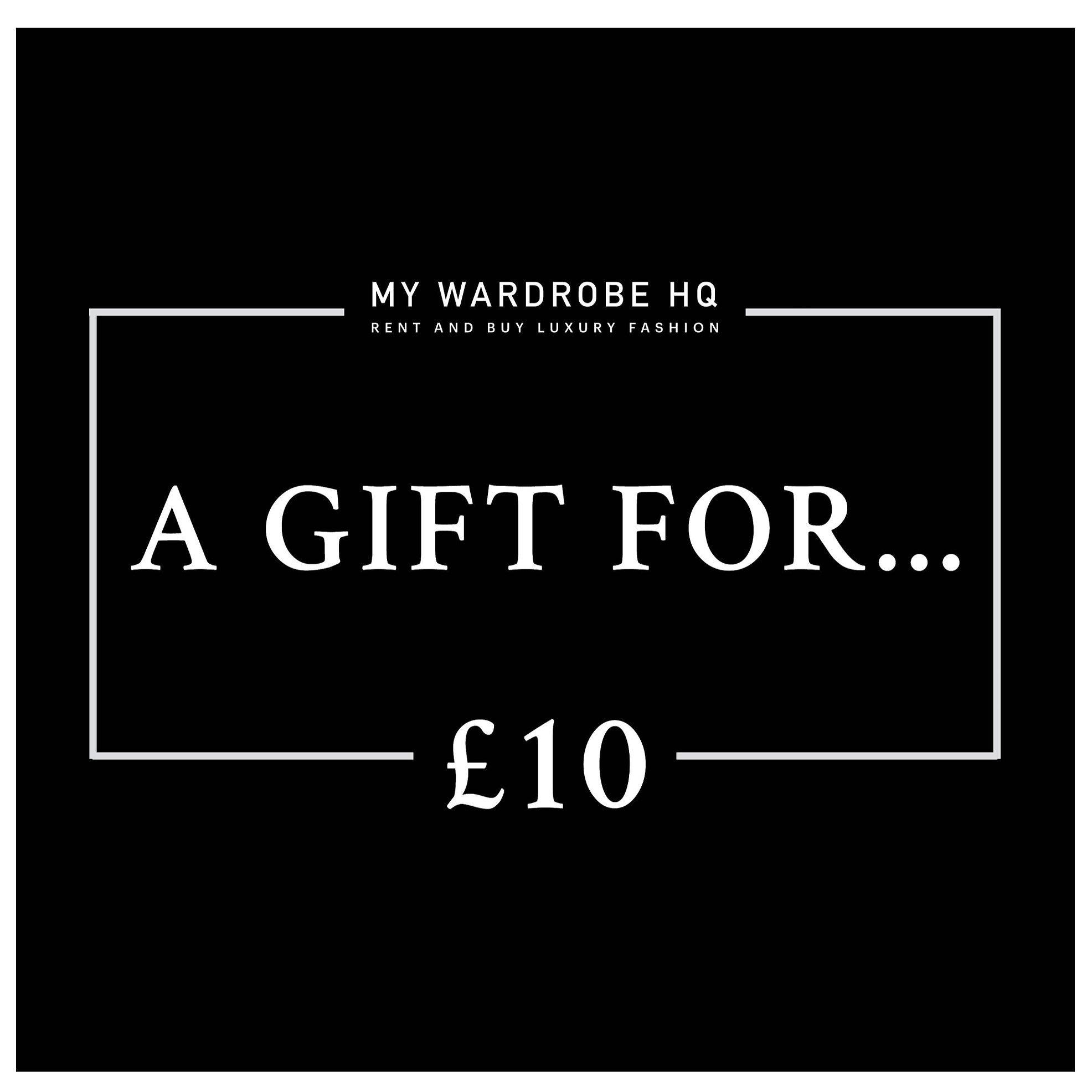Voucher £10 gift voucher
