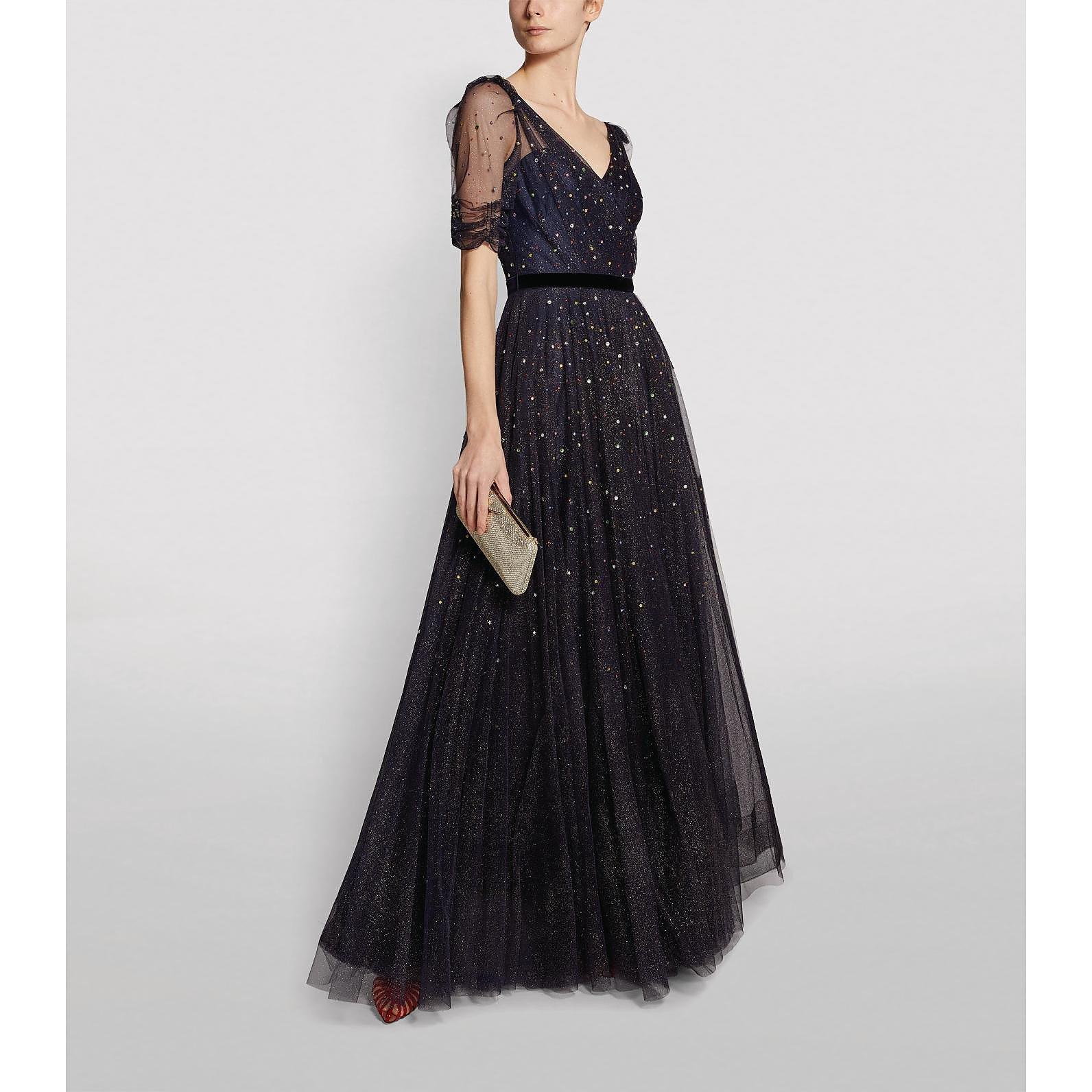 Jenny Packham Embellished Lula Gown