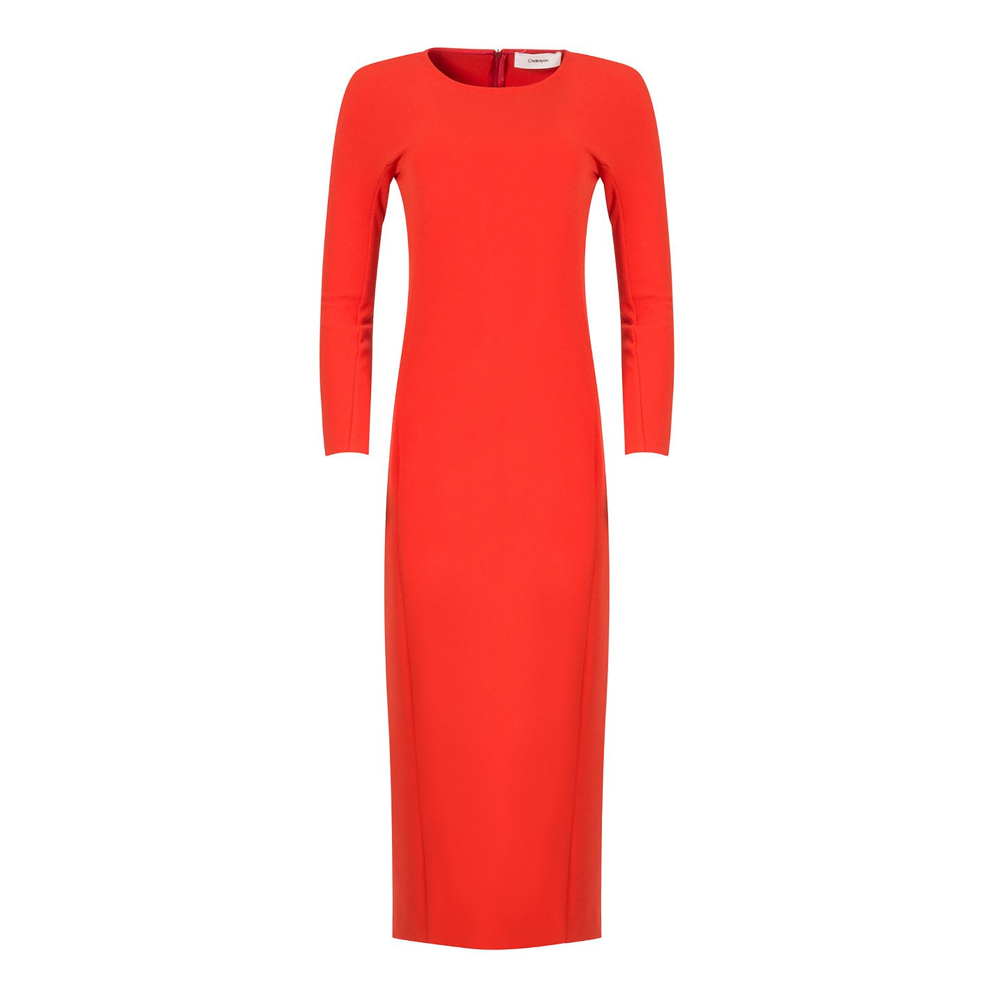 Chalayan Crepe Midi Dress