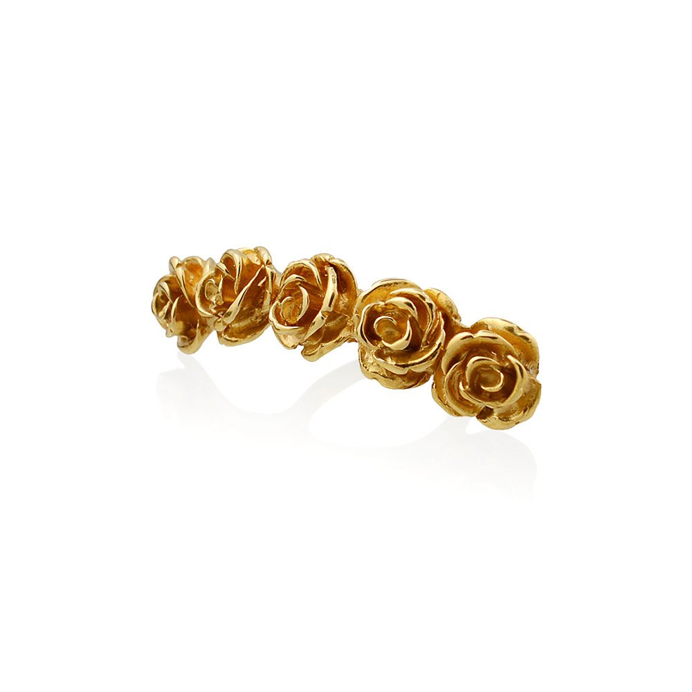 LeiVanKash Rose Knuckle Ring