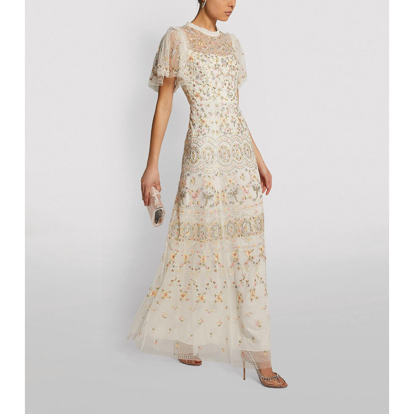Needle & Thread Embroidered Sweet Petal Gown