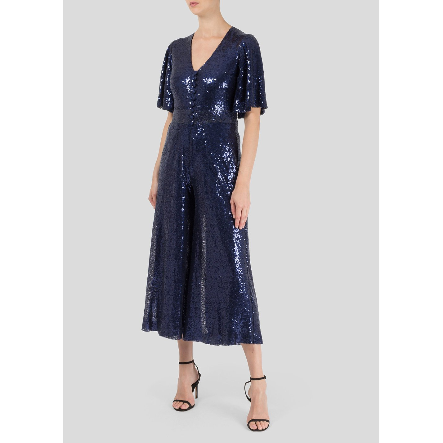 Rock The Jumpsuit Hayley Sequin Jumpsuit