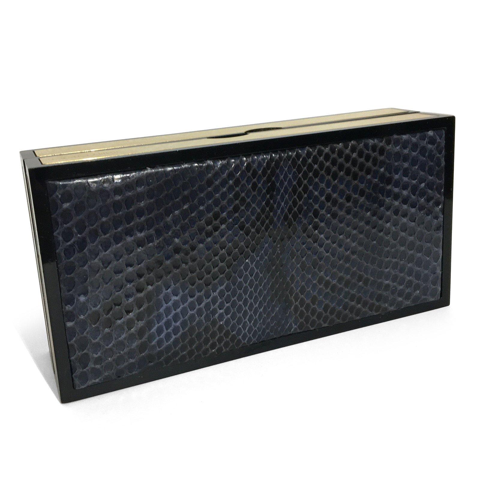 Jimmy Choo Snakeskin Box Clutch
