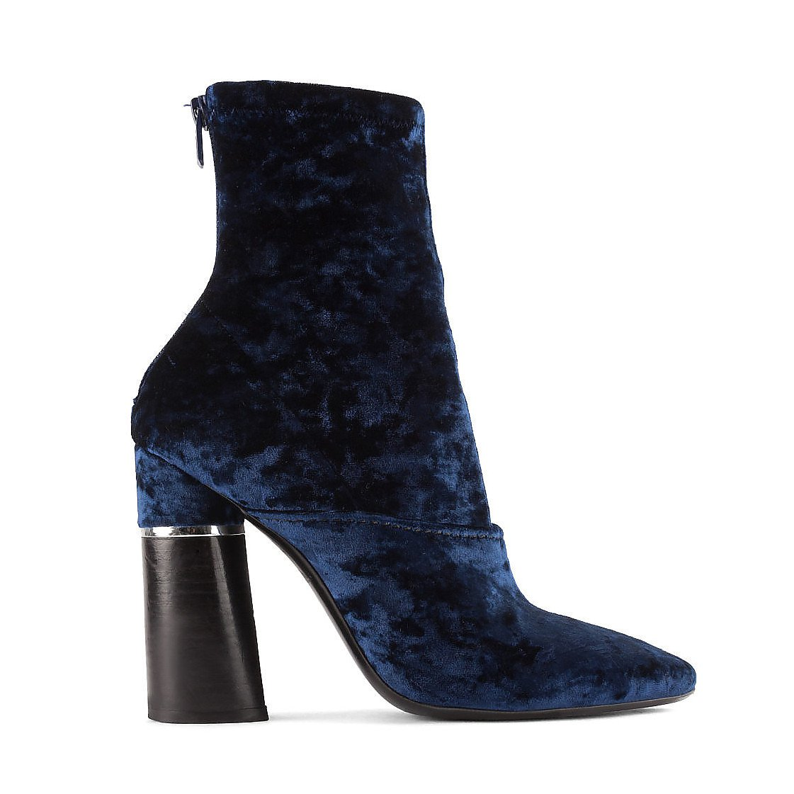 3.1 Phillip Lim Kyoto Velvet Heeled Sock Boots