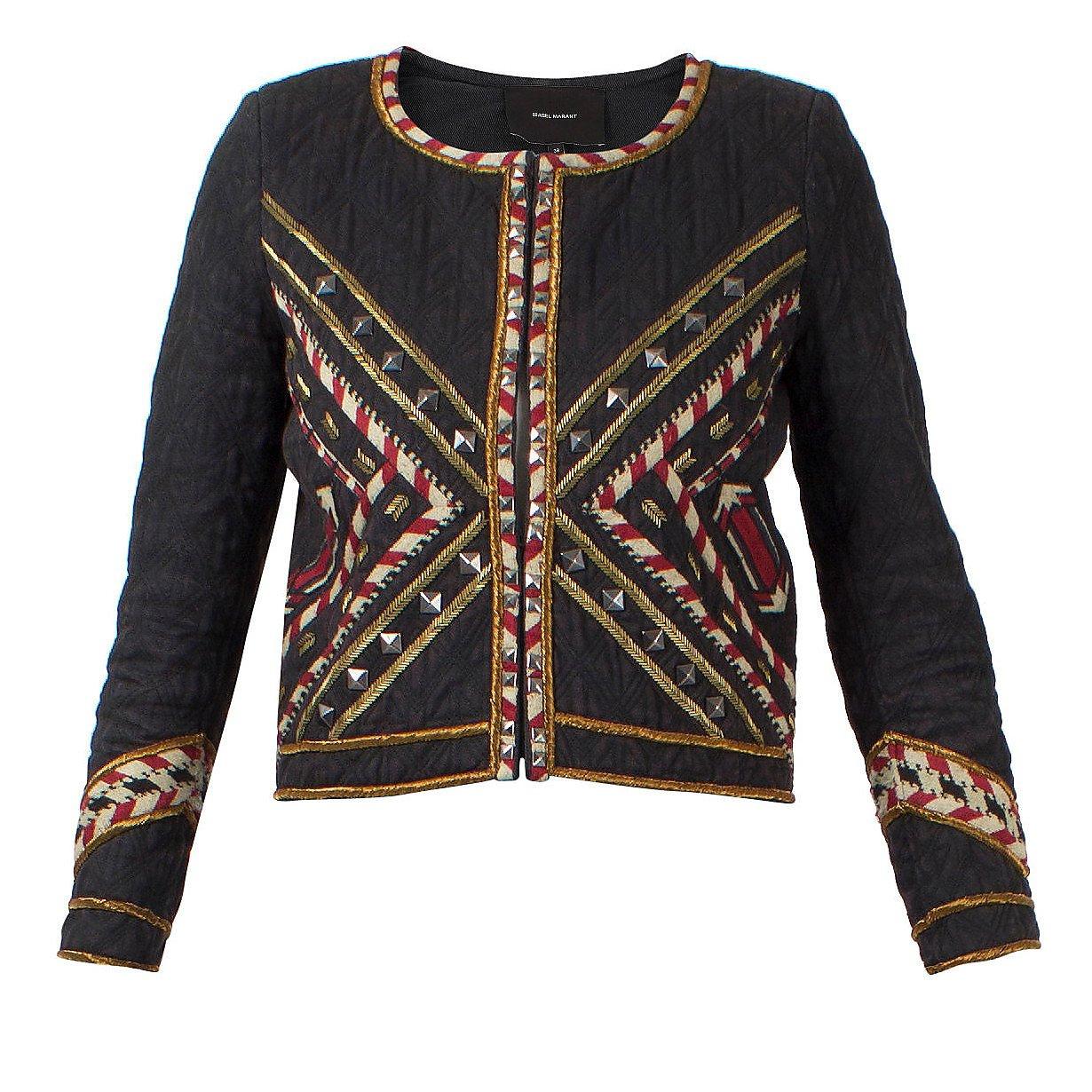 Isabel Marant Embroidered Box Jacket