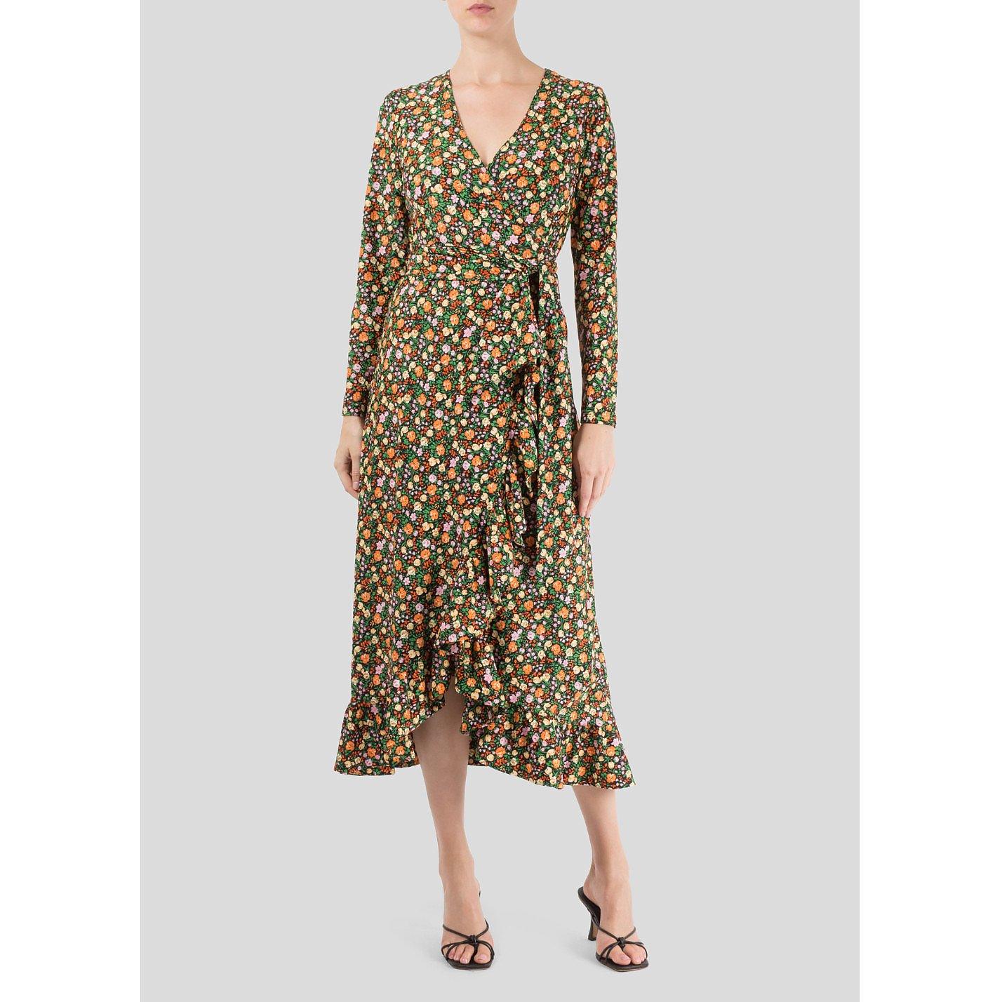 Ganni Alameda Wrap Dress