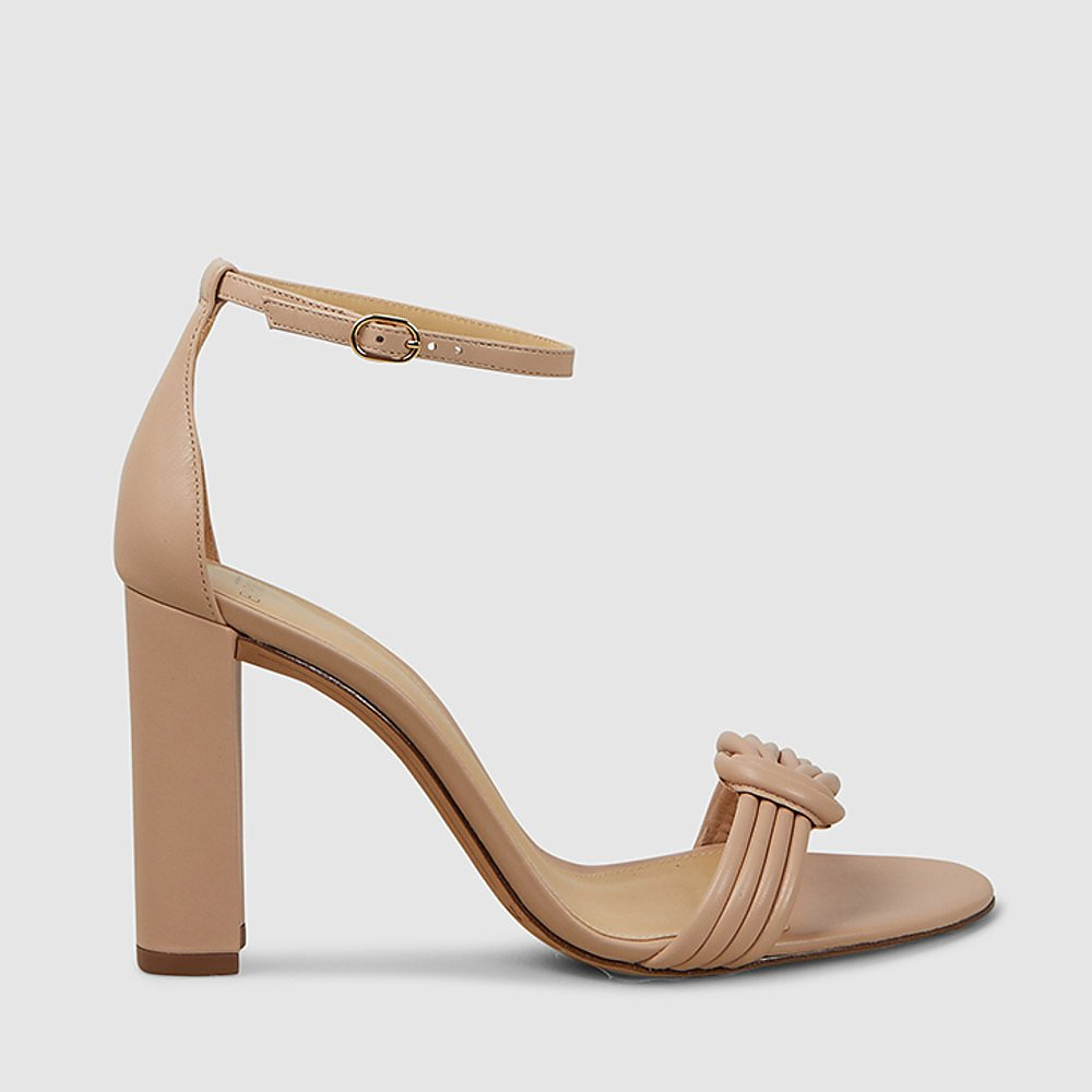Alexandre Birman Heeled Leather Sandals