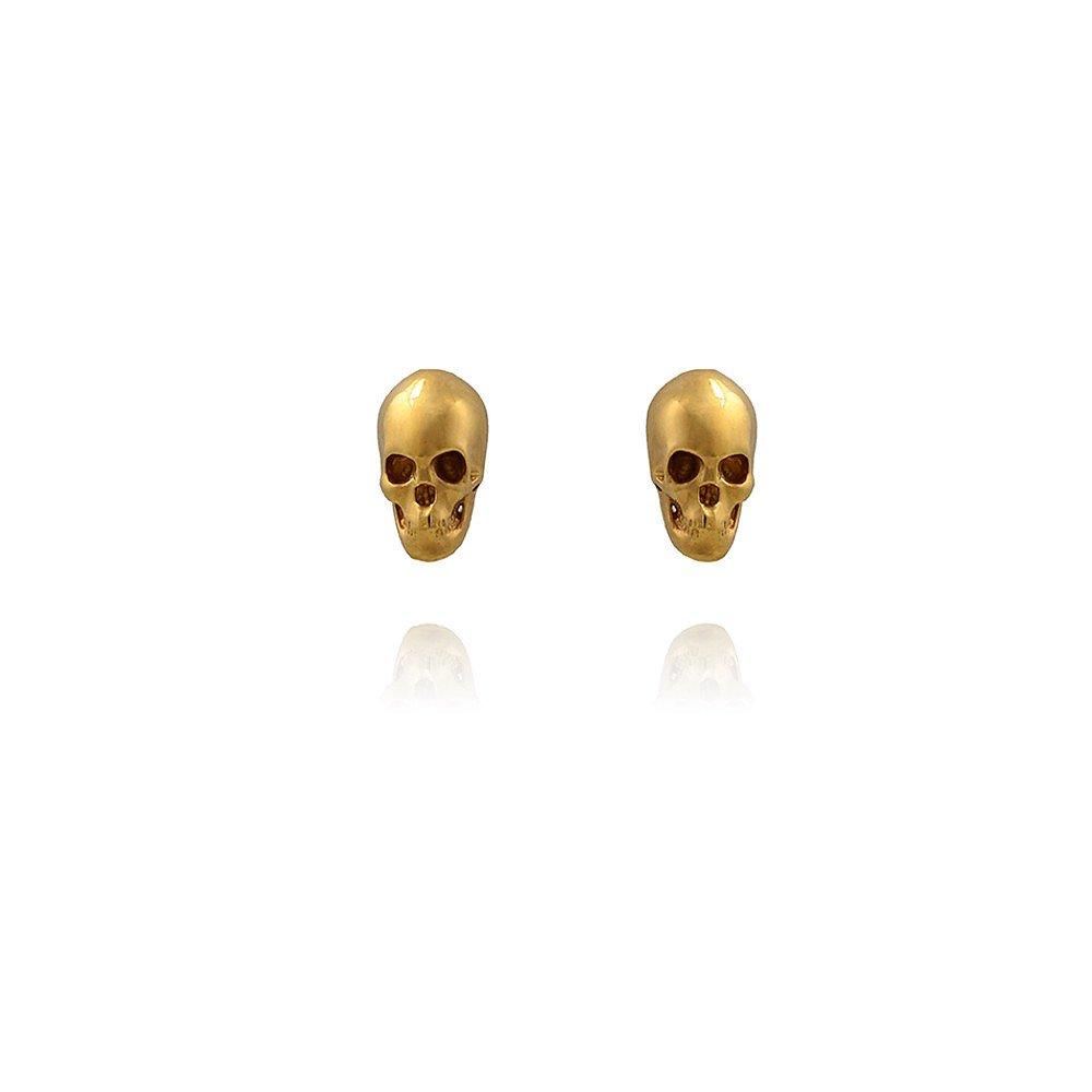 LeiVanKash Skull Earrings