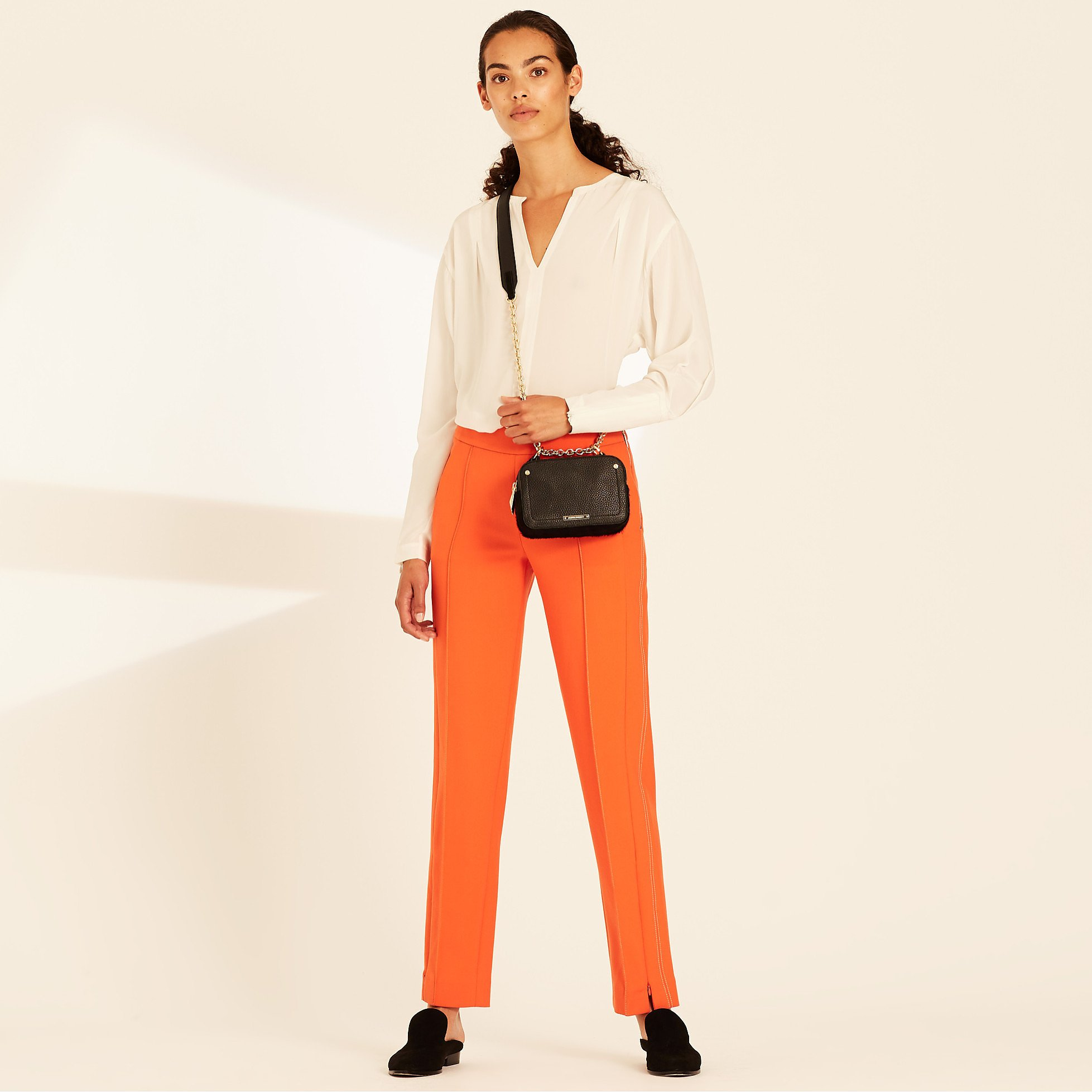 Amanda Wakeley Peg Pant with Sculpted Tailoring