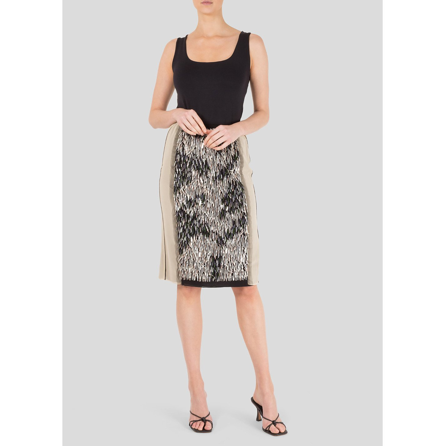 Dorothee Schumacher Sequin Panel Skirt
