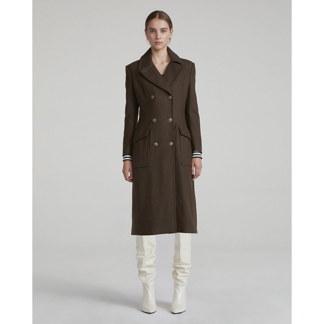 rag & bone Remington Wool-Blend Felt Coat