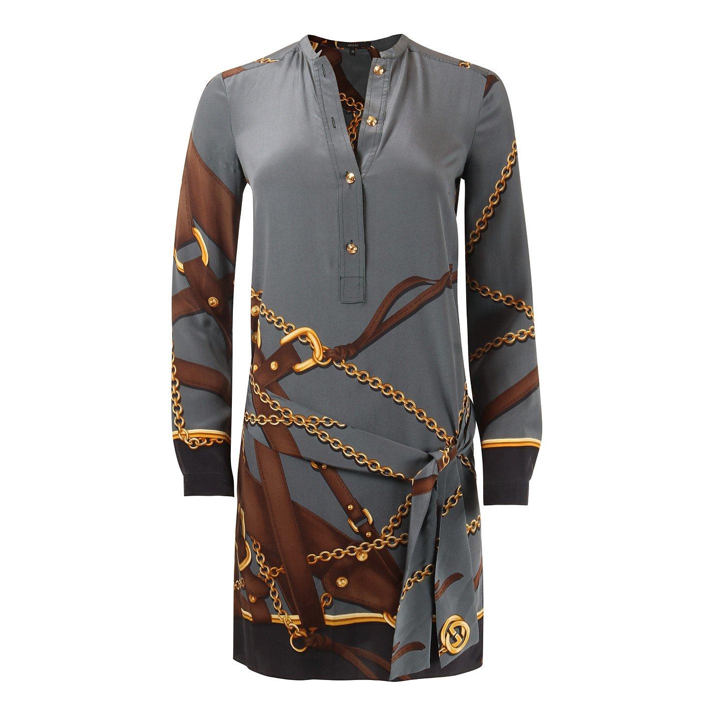 Gucci Chain Print Mini Dress