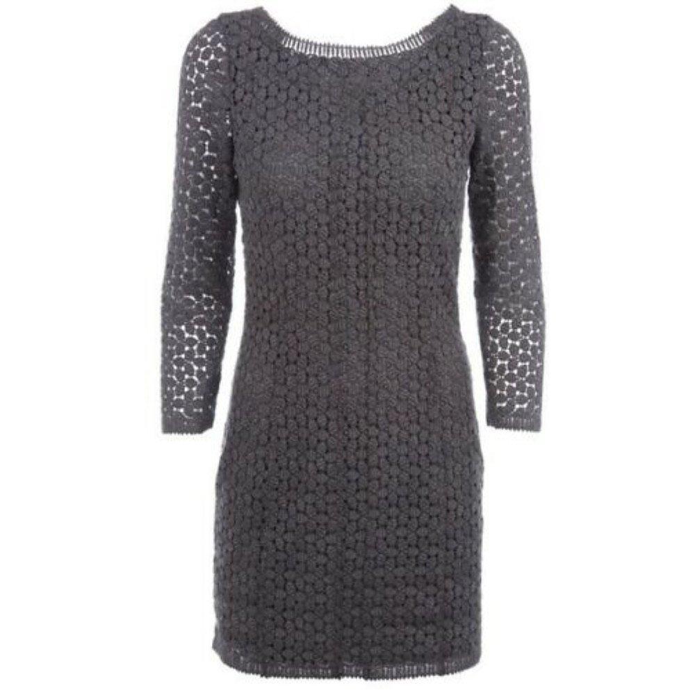 Diane von Furstenberg Caritan Crochet Mini Dress