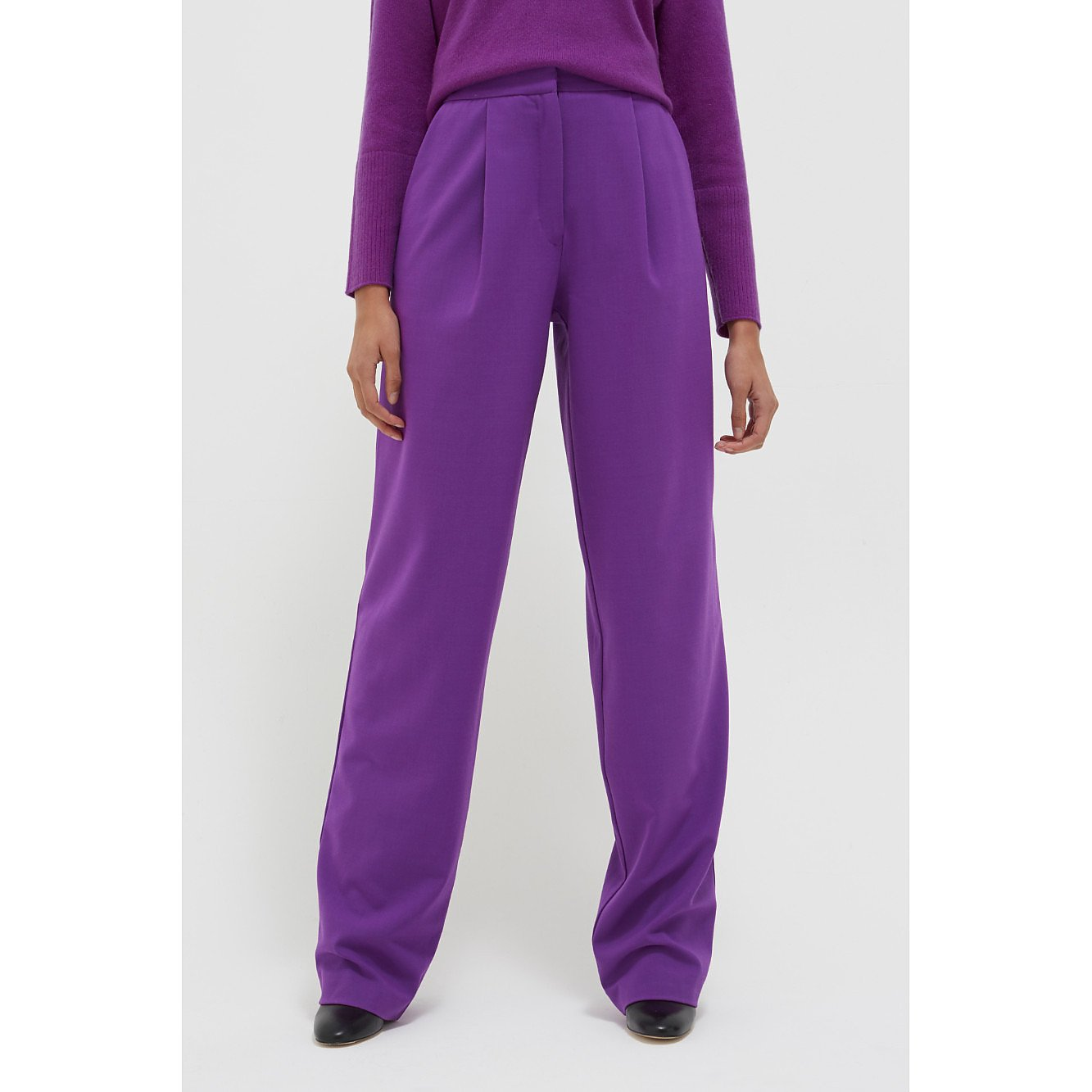 Chinti and Parker Colour Pop Wool-Twill Trousers