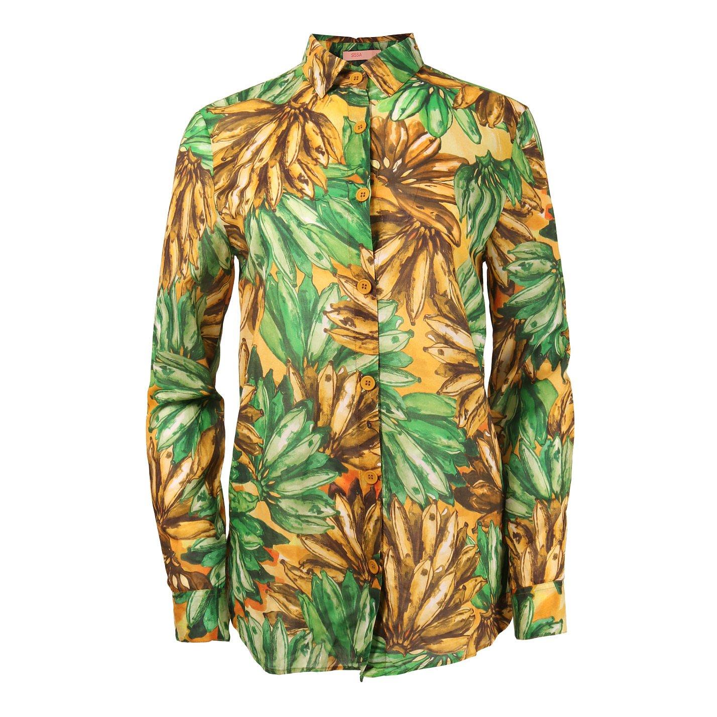 SISSA Banana Print Shirt