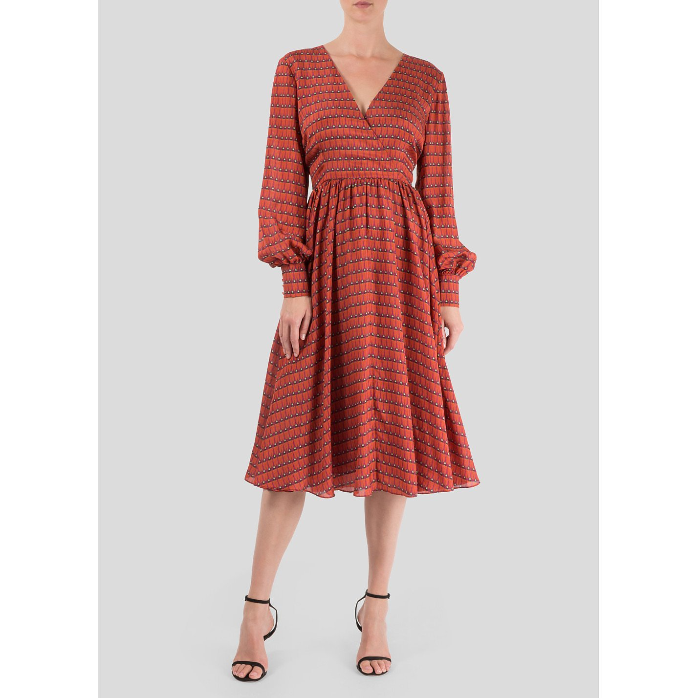 Dhela Firebug Silk Dress