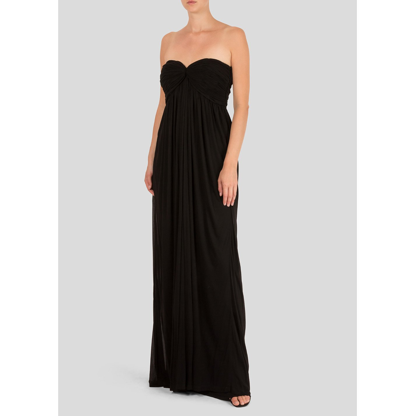 Sophia Kokosalaki Ruched Strapless Gown