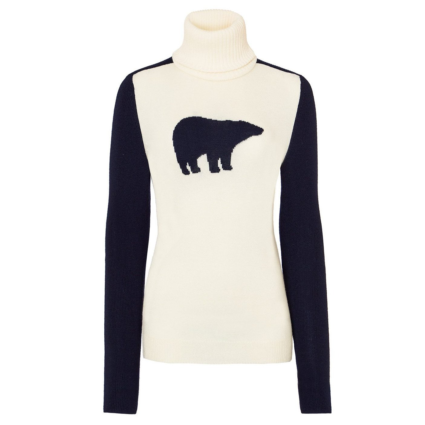 Perfect Moment Bear Turtle-Neck Sweater