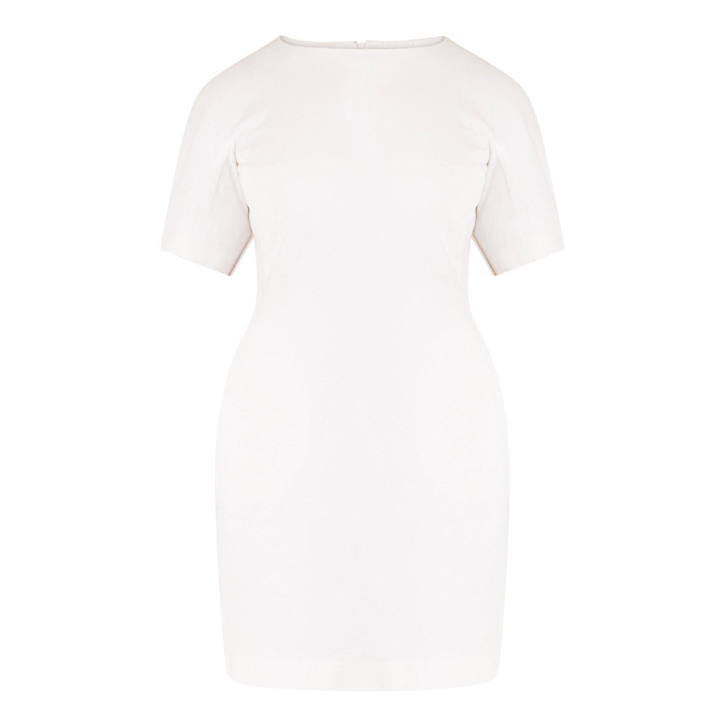 Jil Sander Cotton Mini Dress