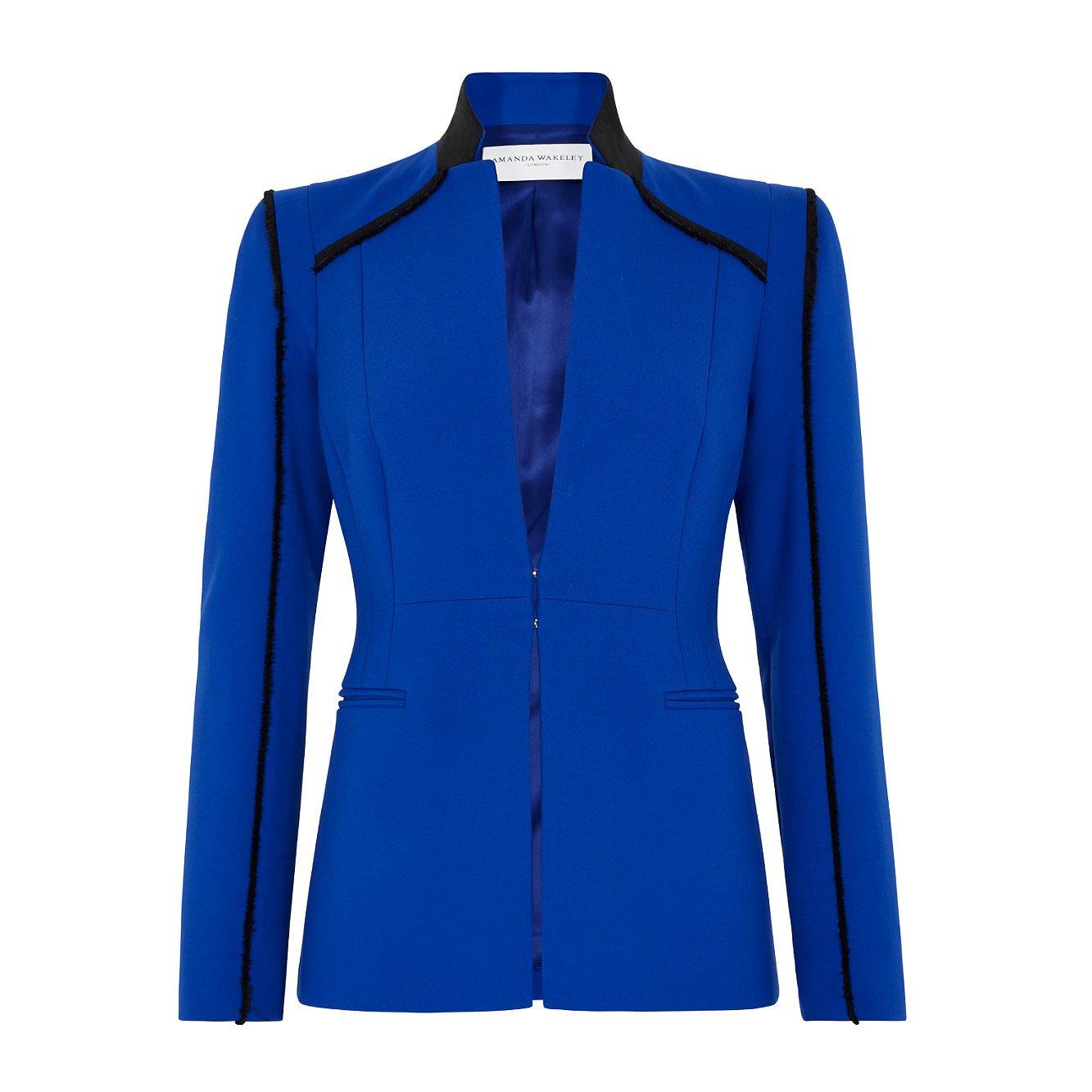 Amanda Wakeley Sculpted Slim Fitting Jacket