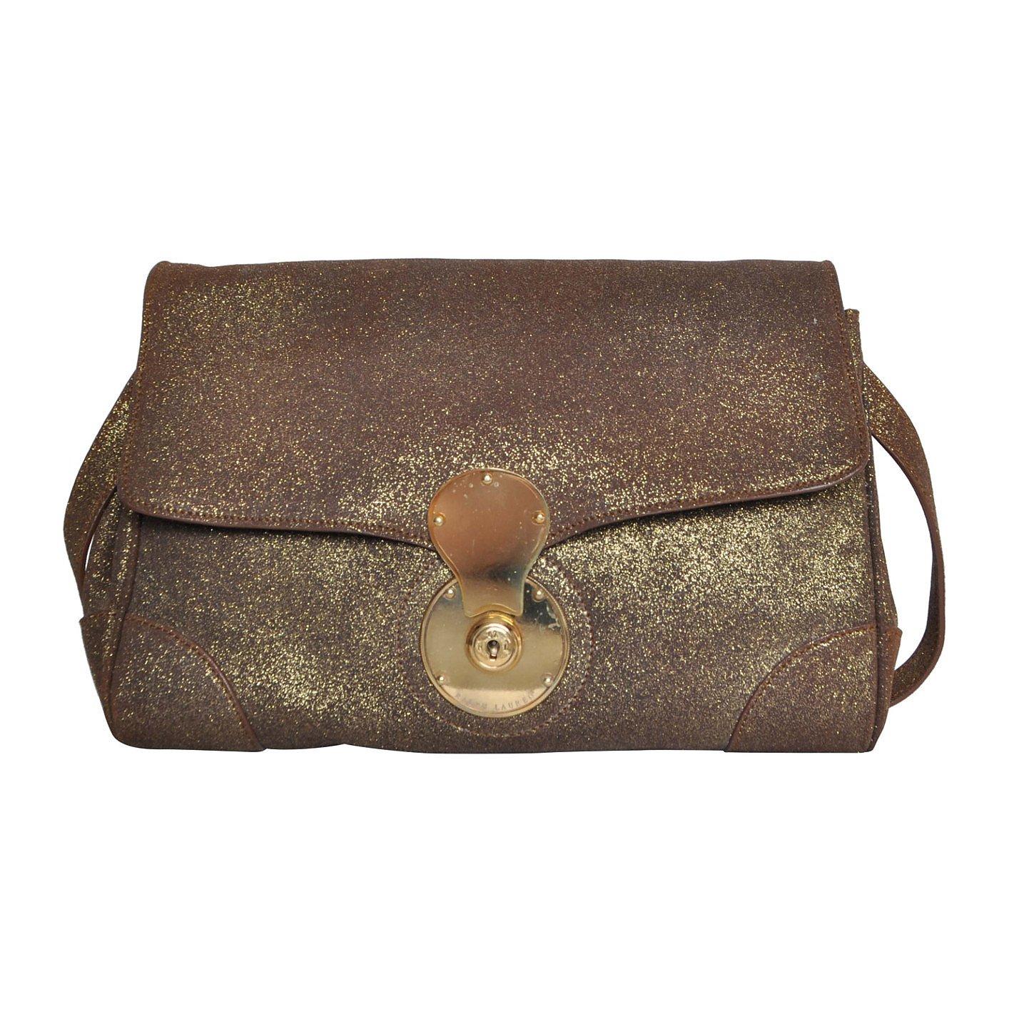 Ralph Lauren Glitter Shoulder Bag