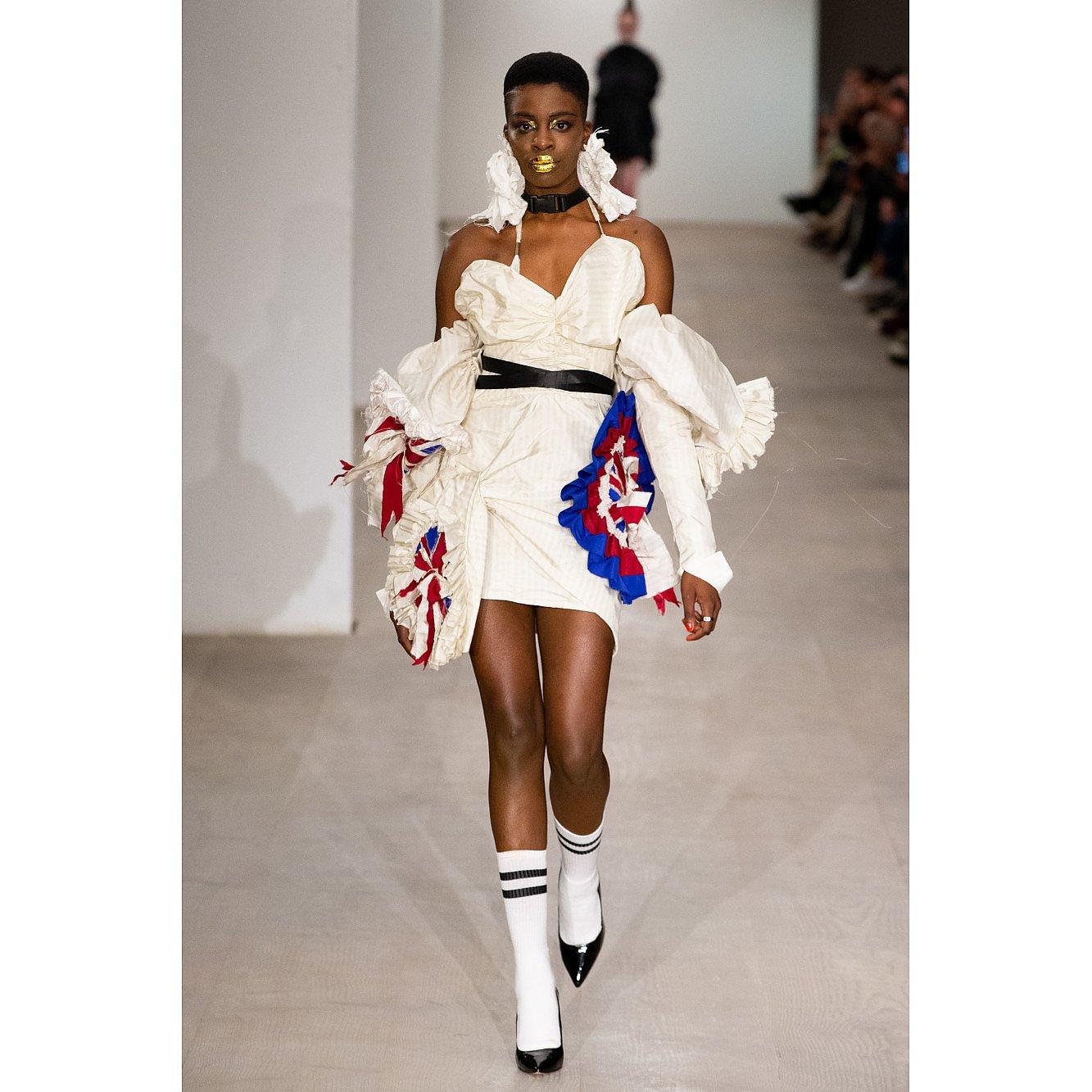 House Of Sheldonhall Reclaimed Silk Dress