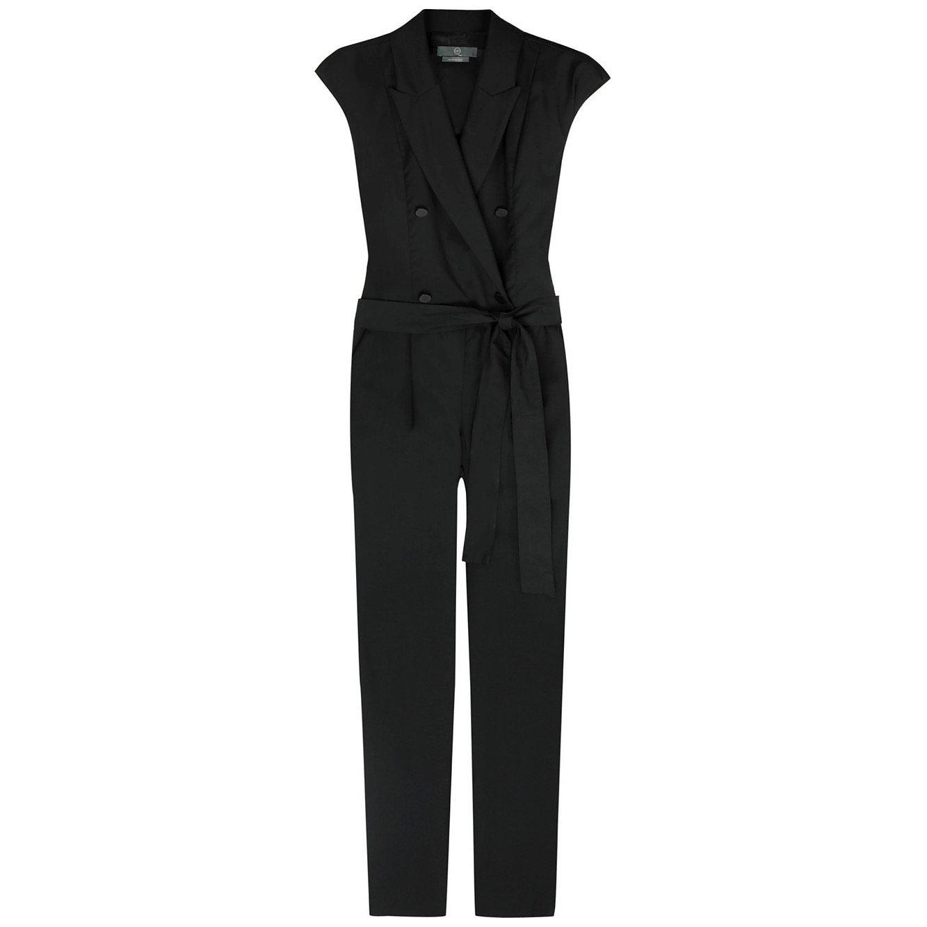 McQ Wool Tuxedo Jumpsuit