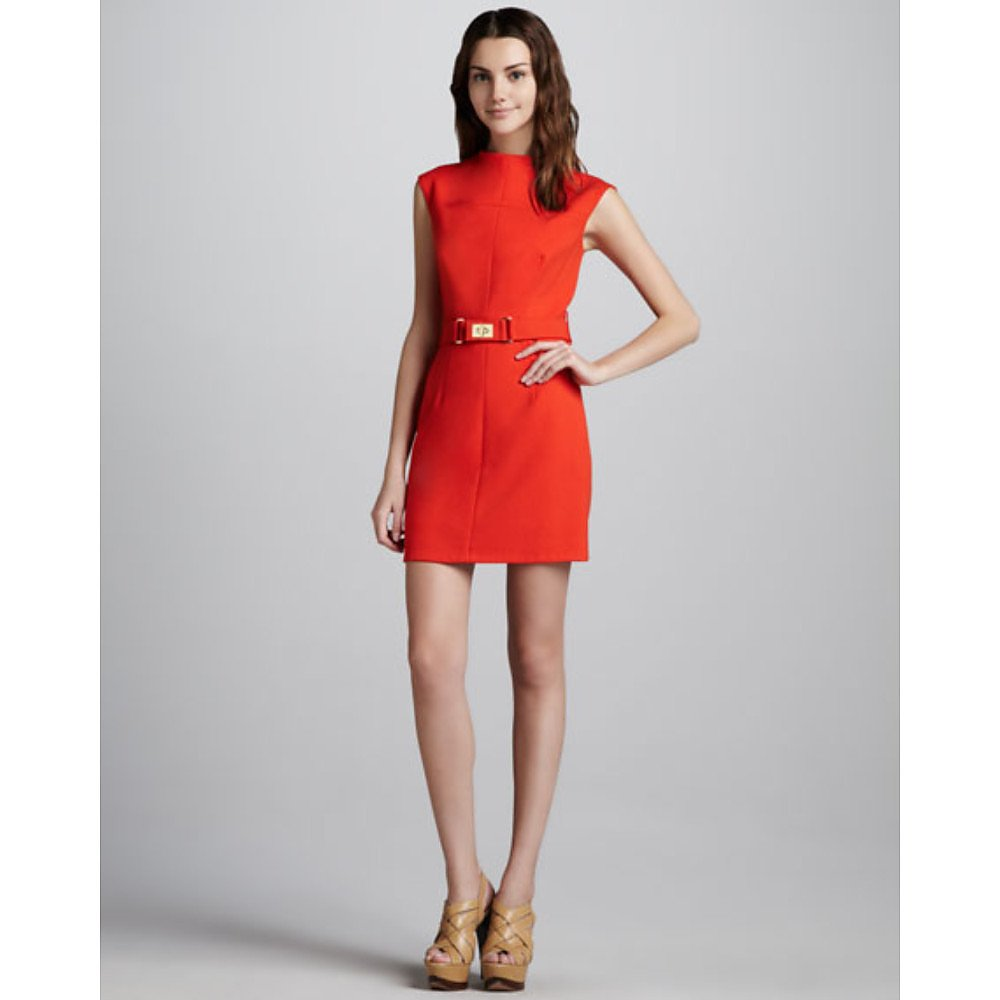 Milly Daphne Belted Dress