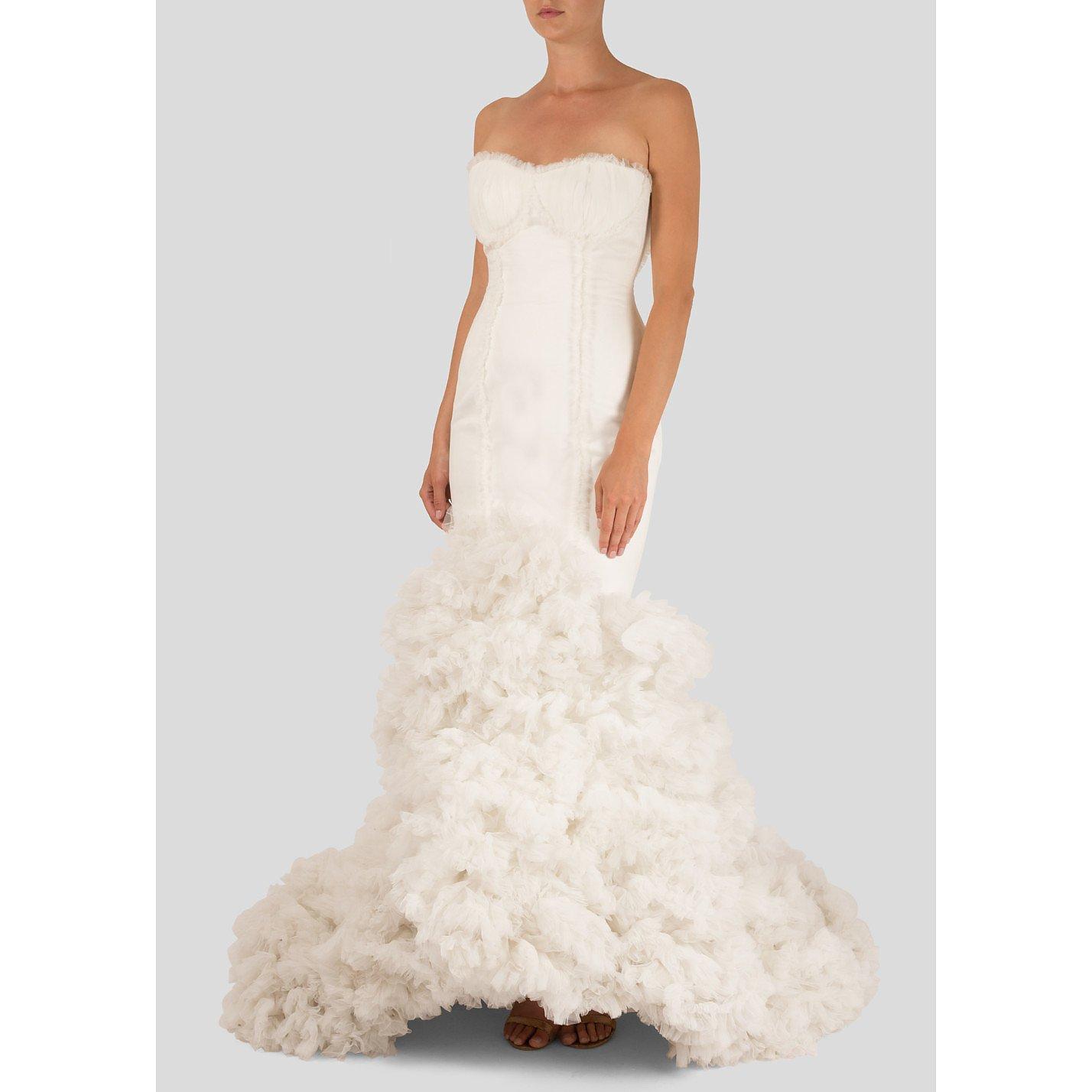 Vicky M. Berrocal Flamenco-Inspired Wedding Dress