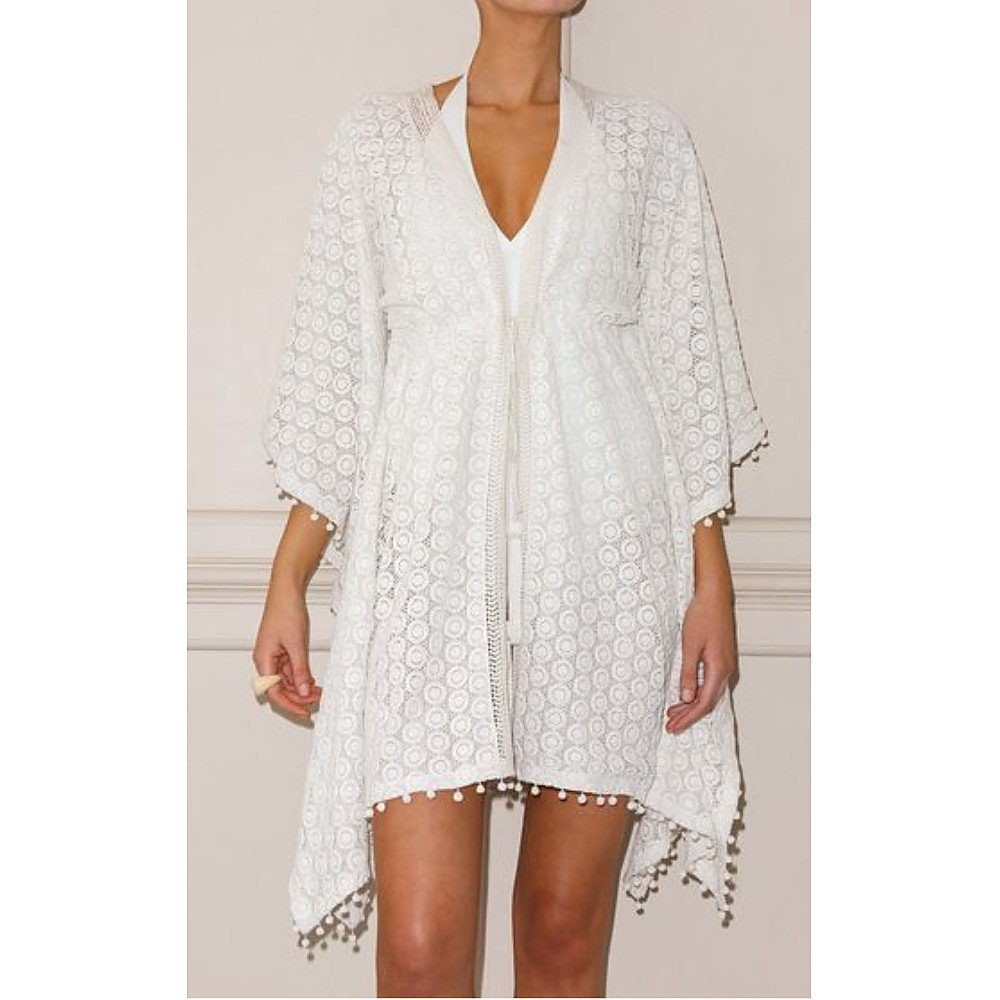 Talitha Chaya Crocheted Cotton Cover-Up