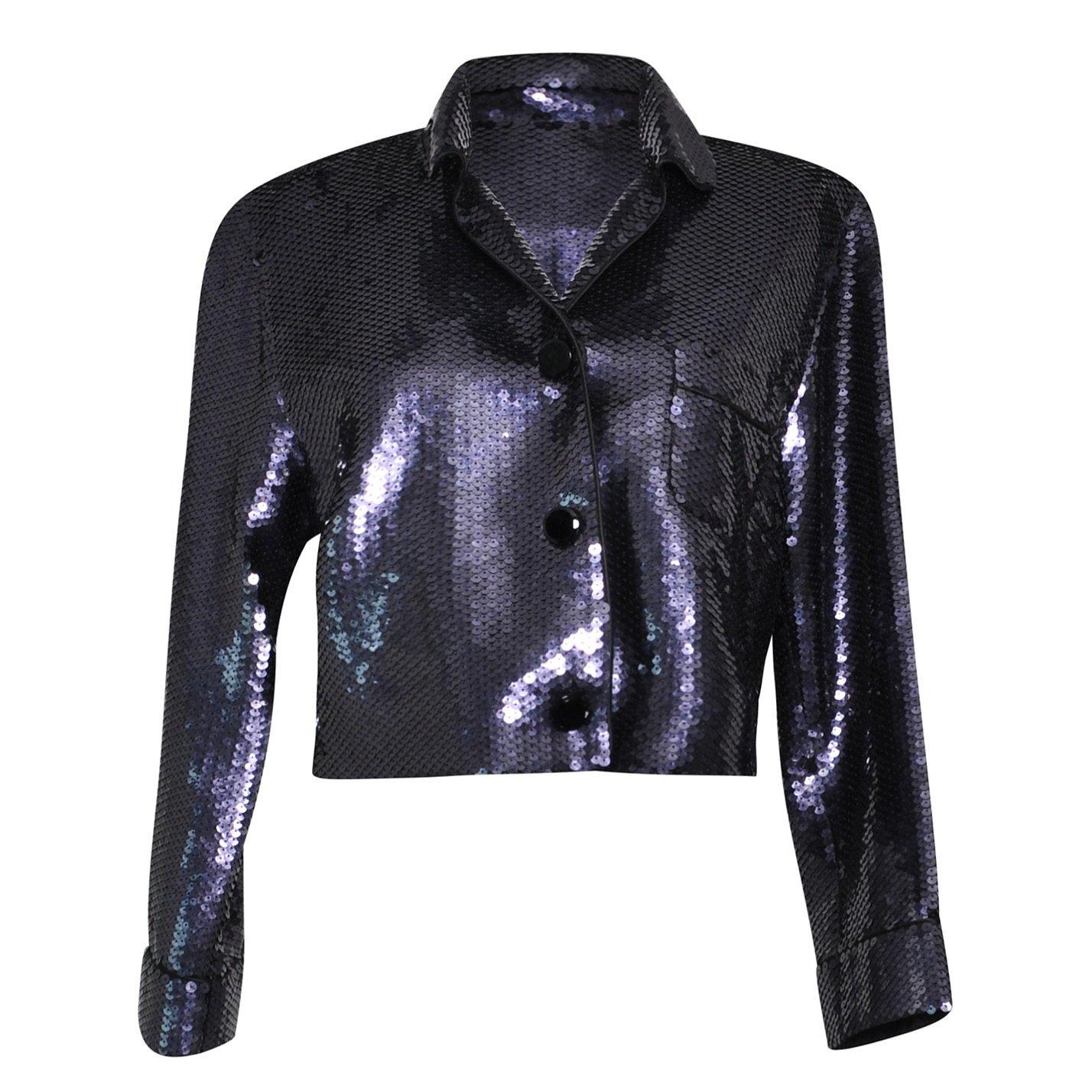 Marc Jacobs Crop Sequin Blazer