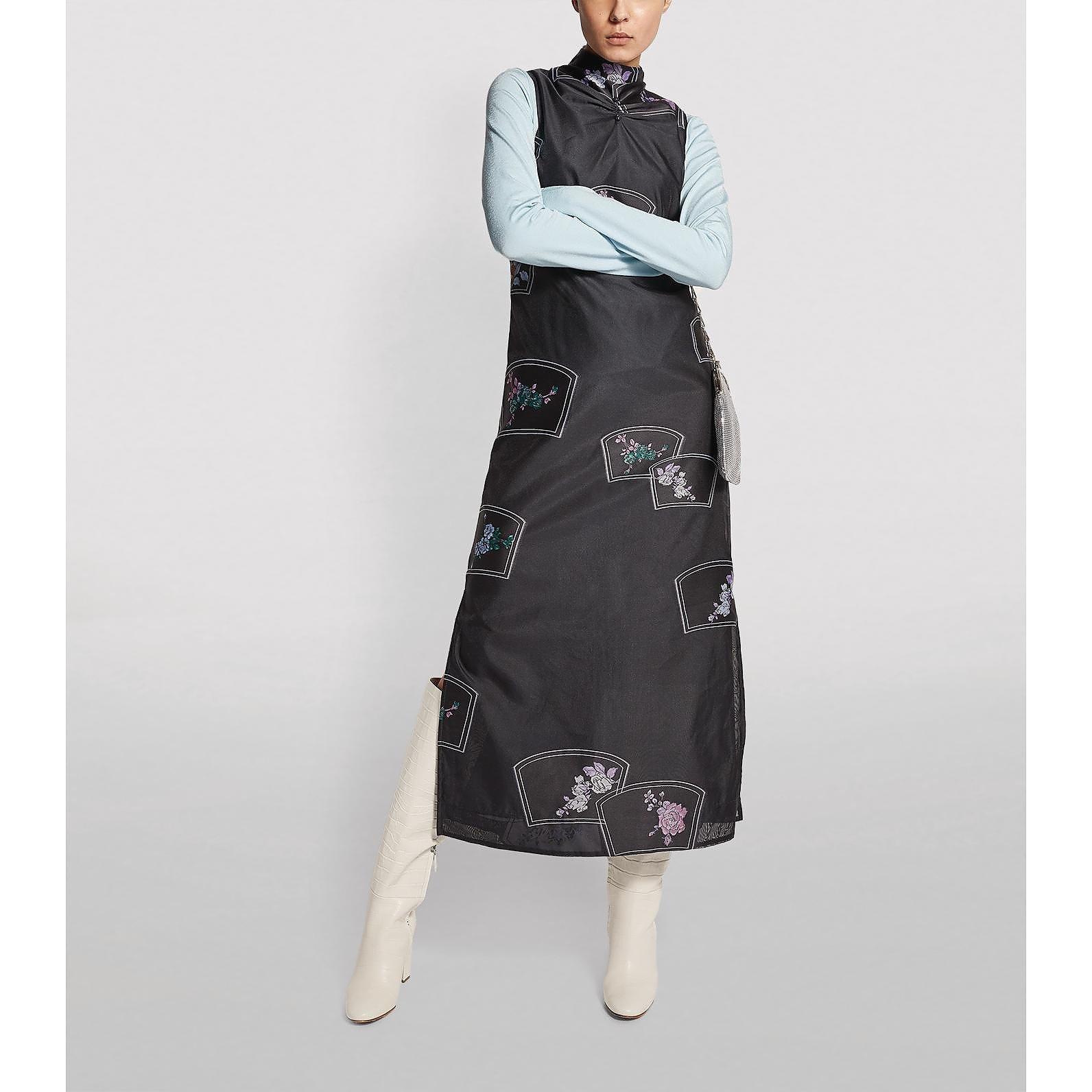 Ganni Organza Shift Dress