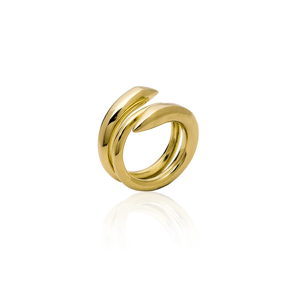 House of Bourgeois Anaconda Ring in Gold