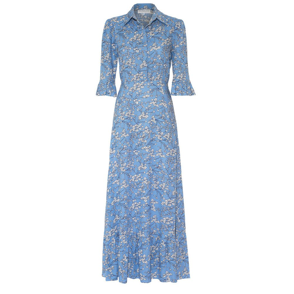 Damselfly London Pandora Dress In Lily Of The Valley