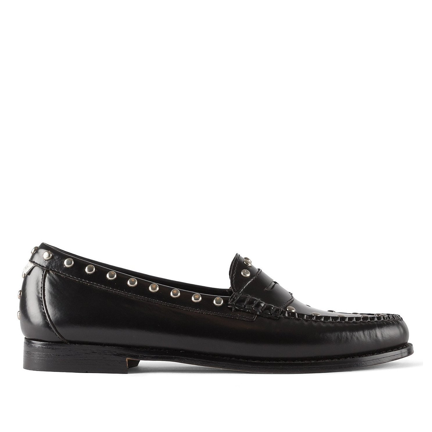 RE/DONE Studded Leather Loafers