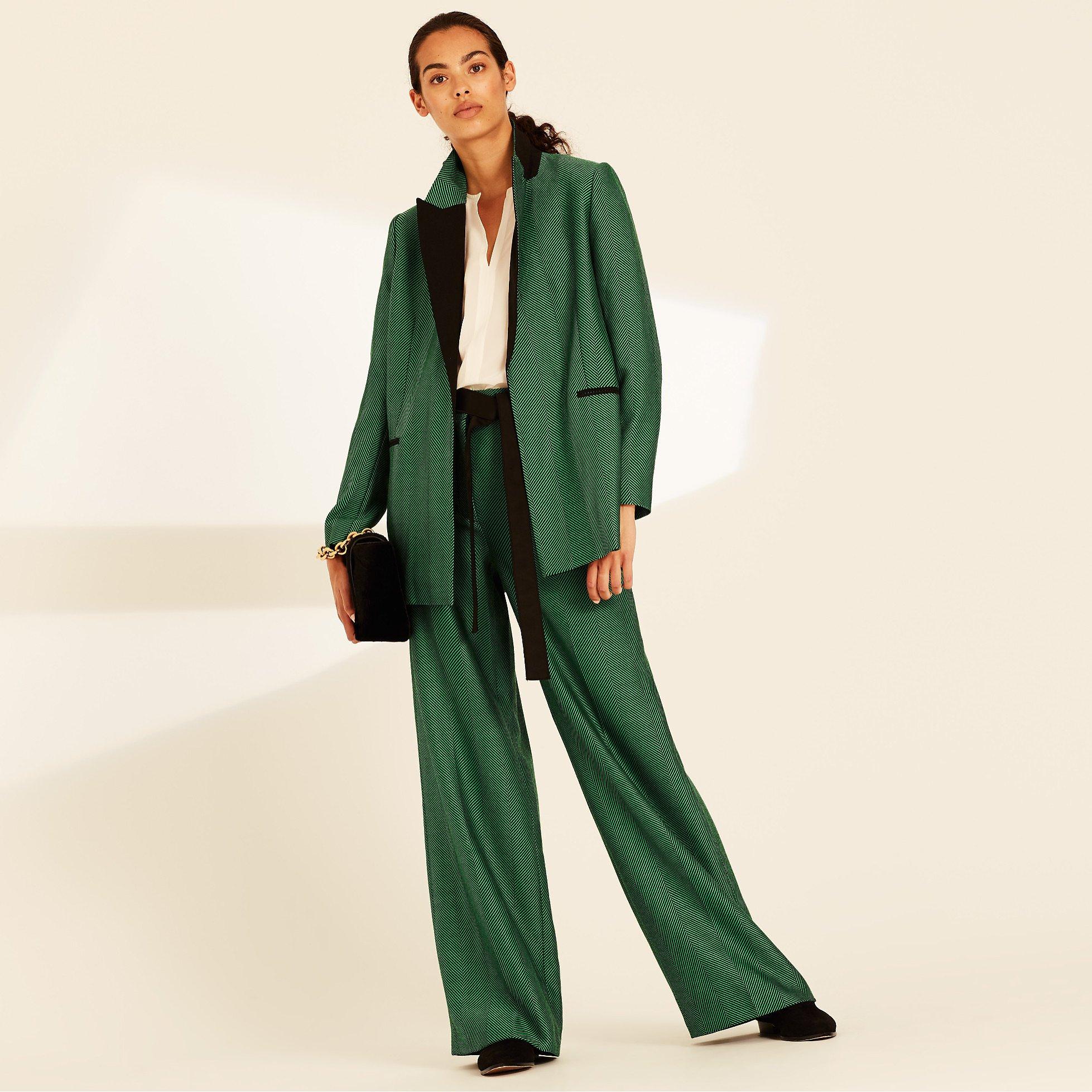 Amanda Wakeley Herringbone Jacket