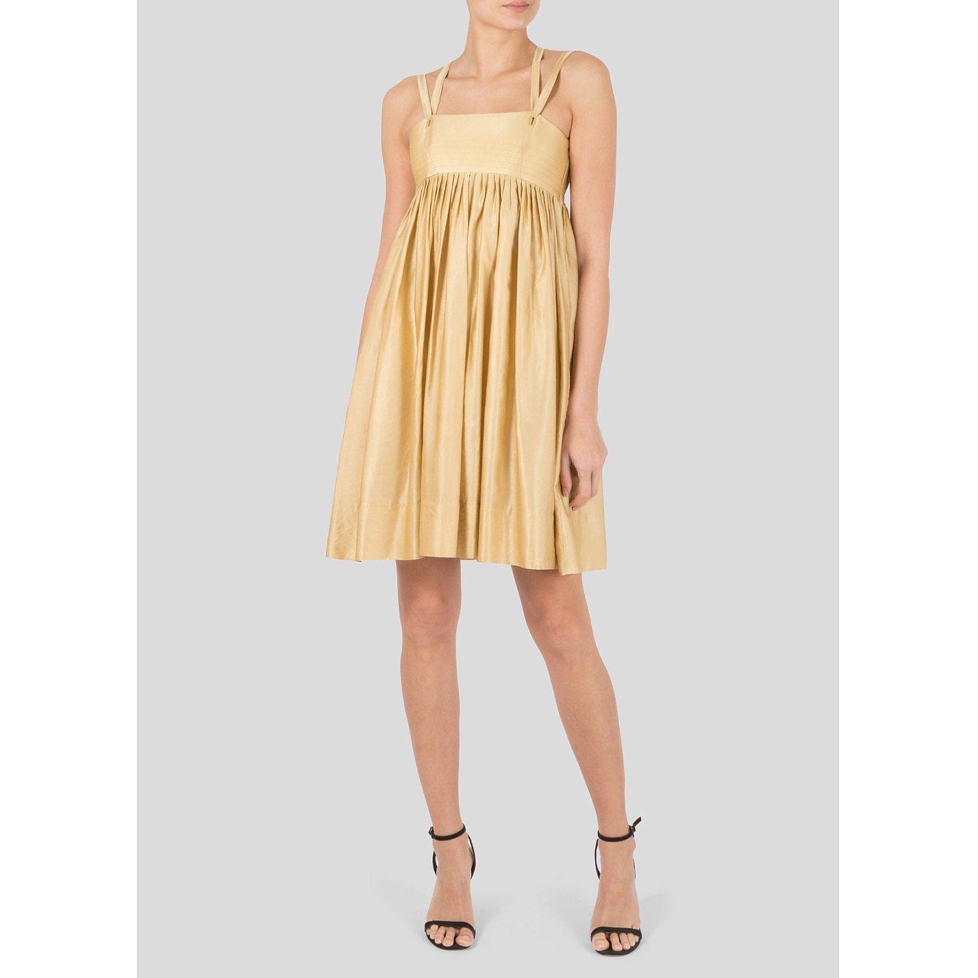 Isabel Marant Satin Mini  Dress