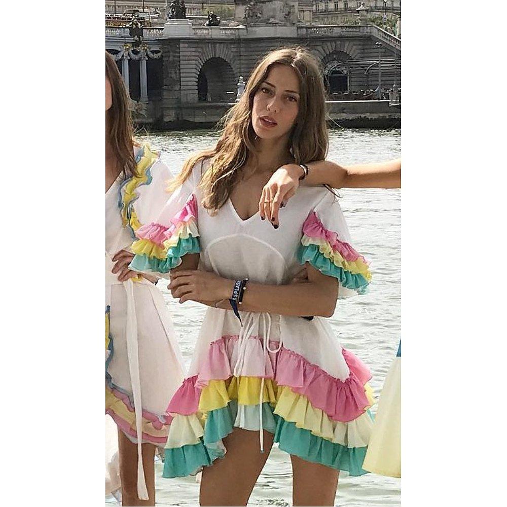 A Mere Co Alice Ruffle Dress